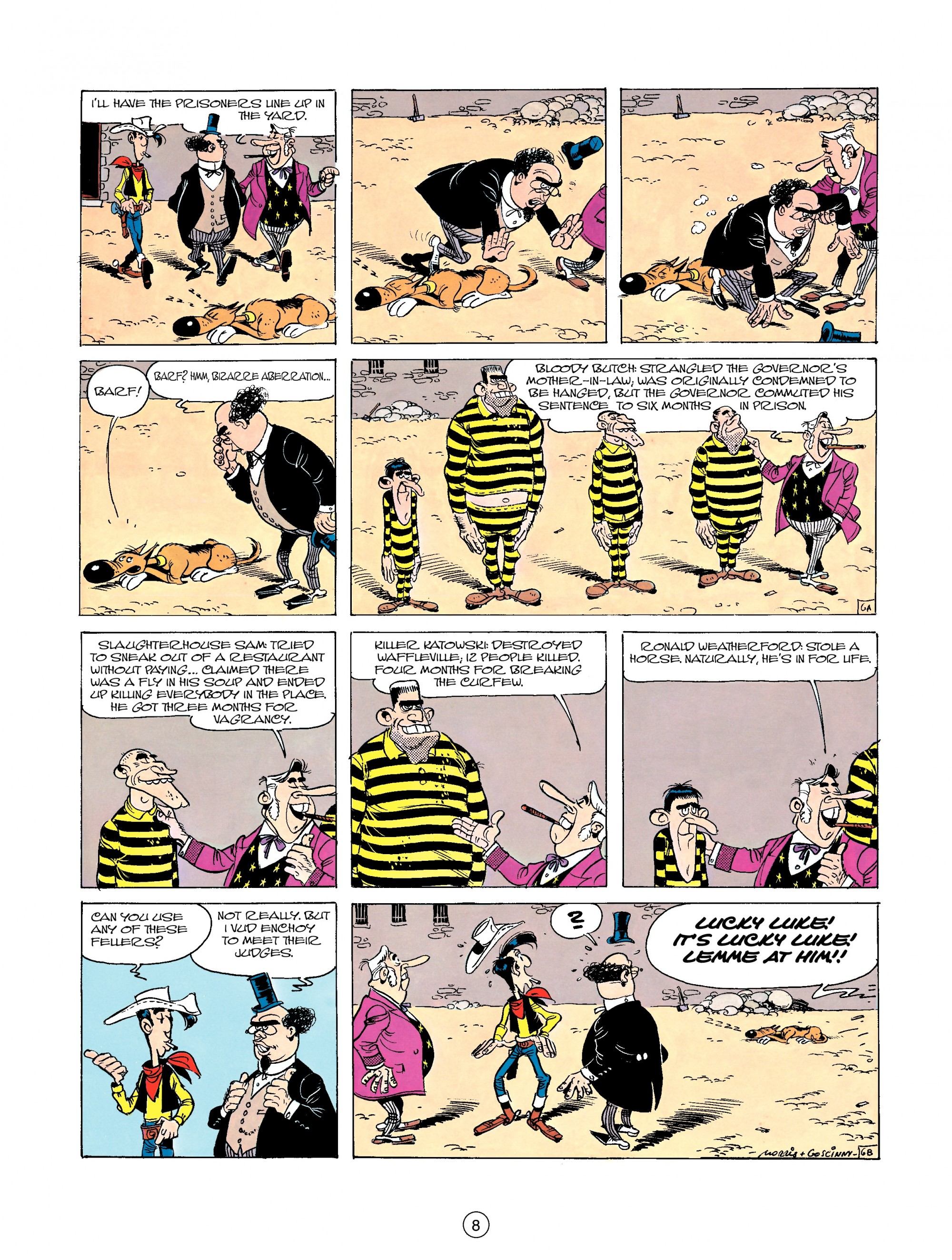 Read online A Lucky Luke Adventure comic -  Issue #23 - 8