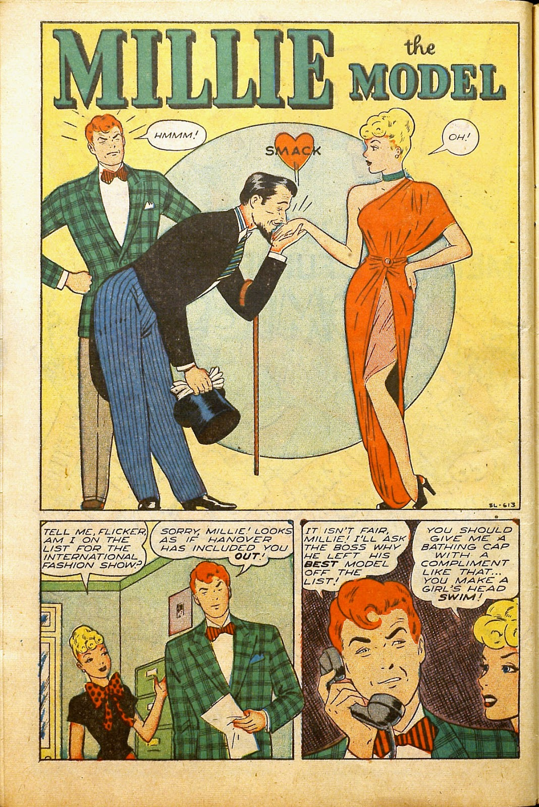 Read online Millie the Model comic -  Issue #2 - 12