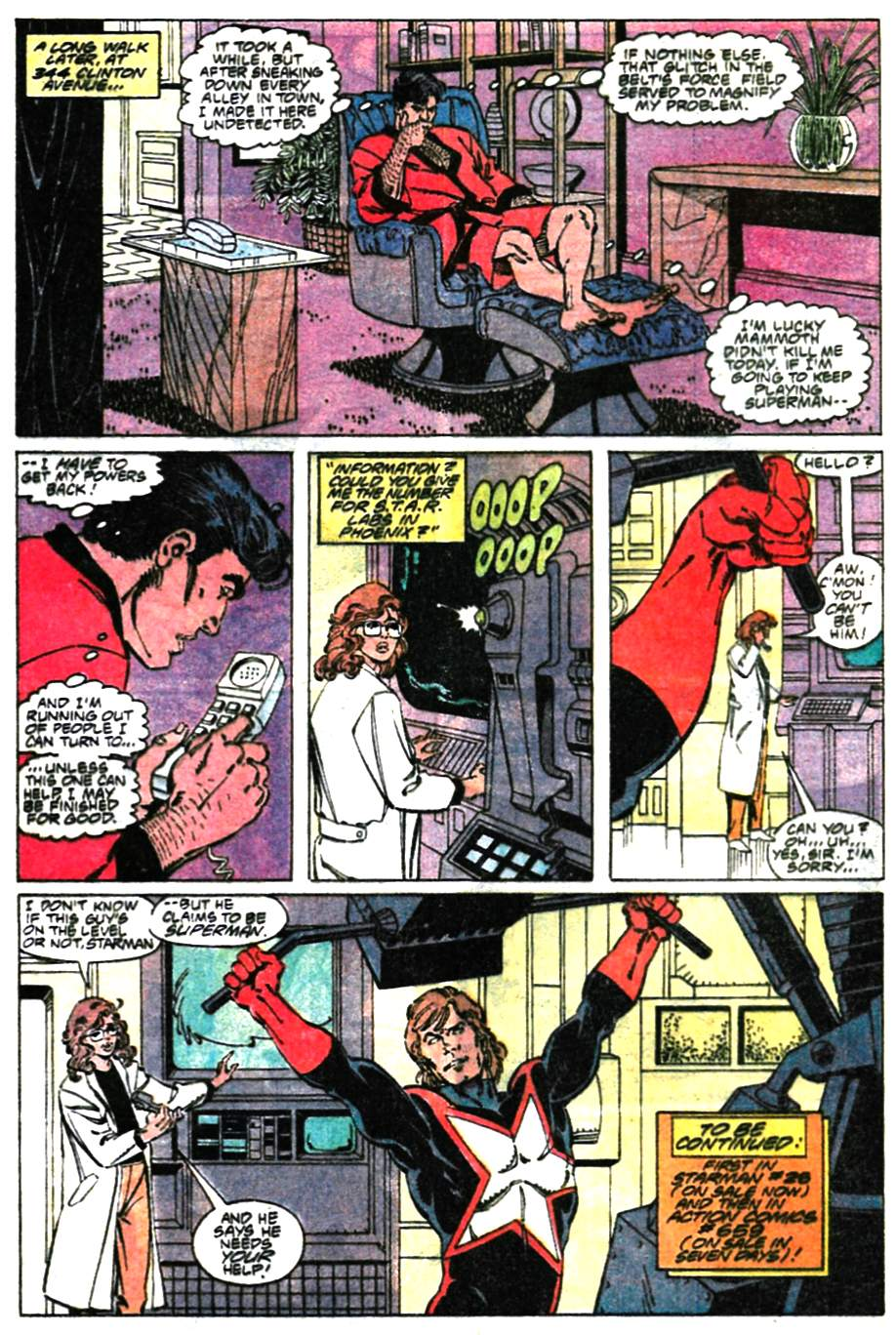 Read online Adventures of Superman (1987) comic -  Issue #472 - 23