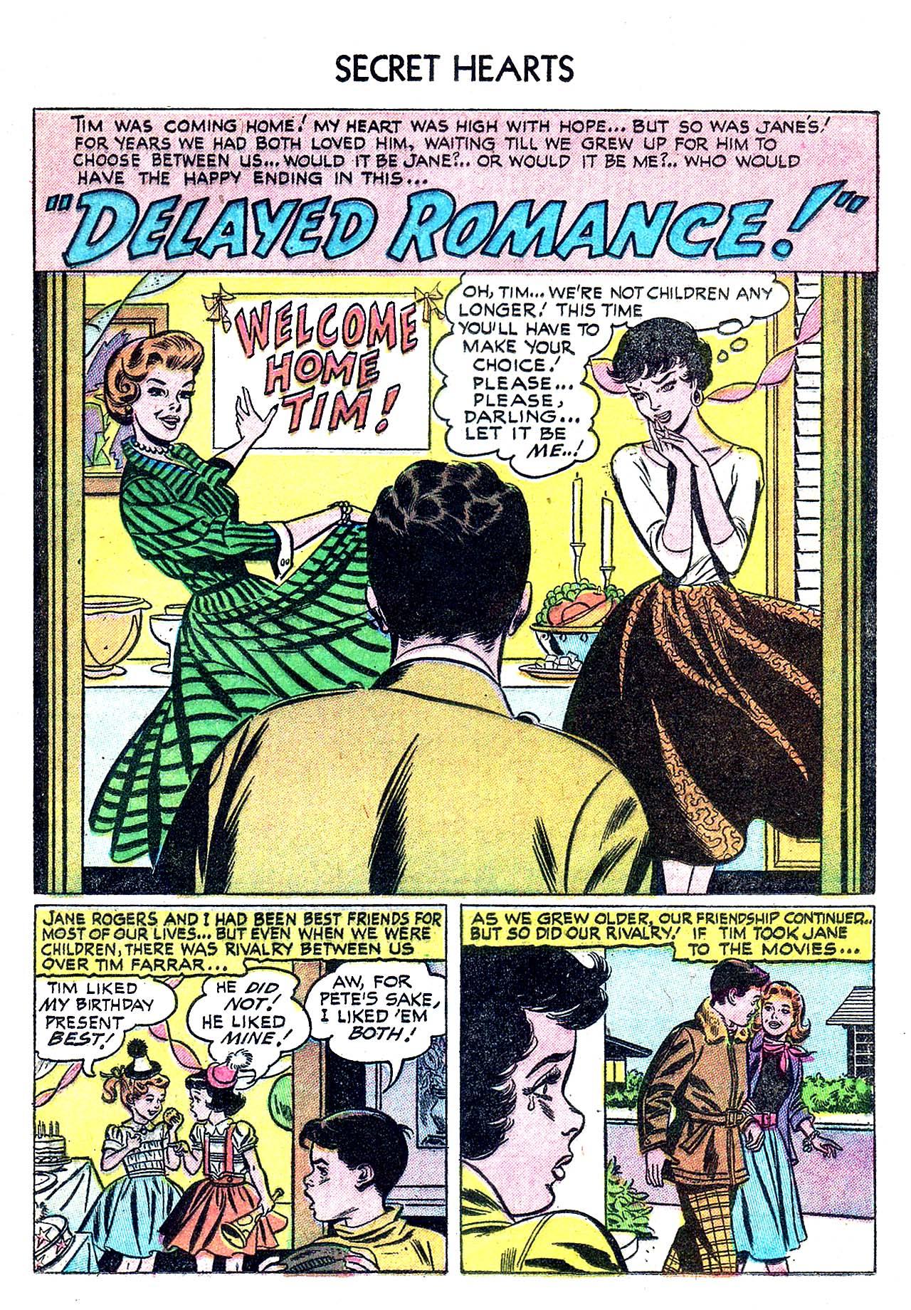 Read online Secret Hearts comic -  Issue #32 - 19