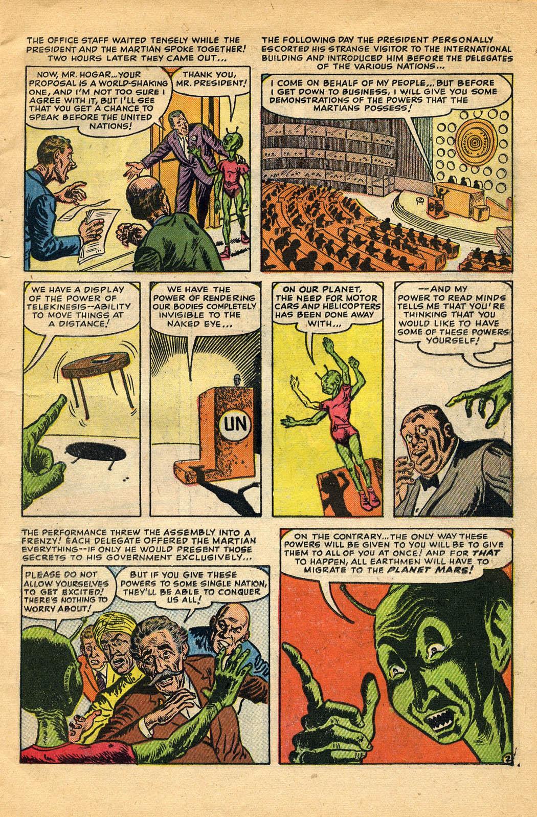Read online Adventures into Weird Worlds comic -  Issue #29 - 11