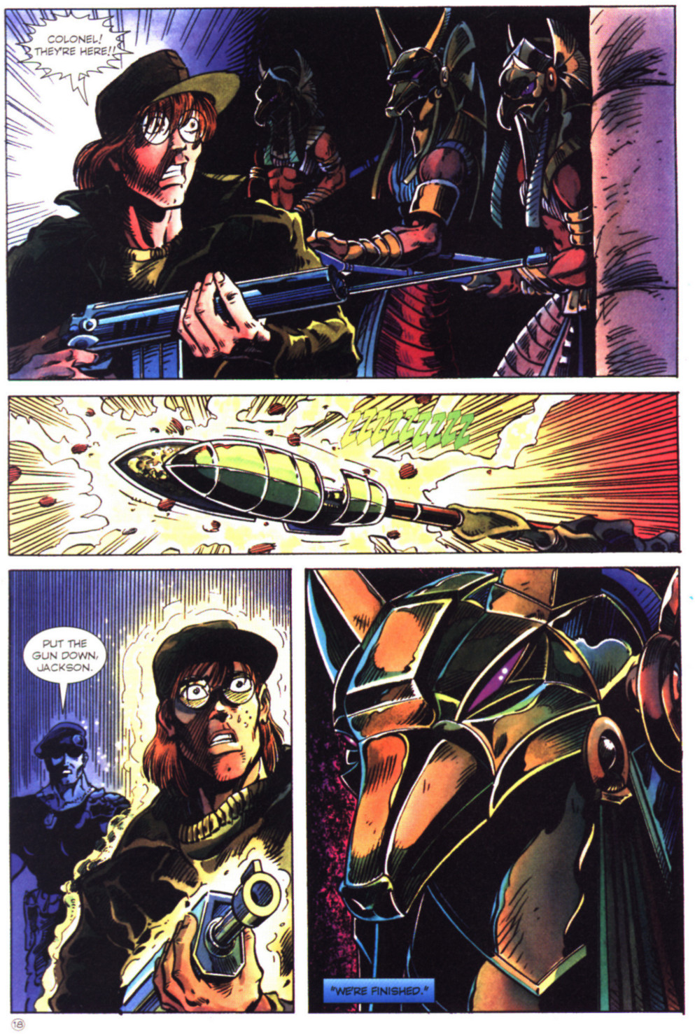 Read online Stargate comic -  Issue #2 - 20