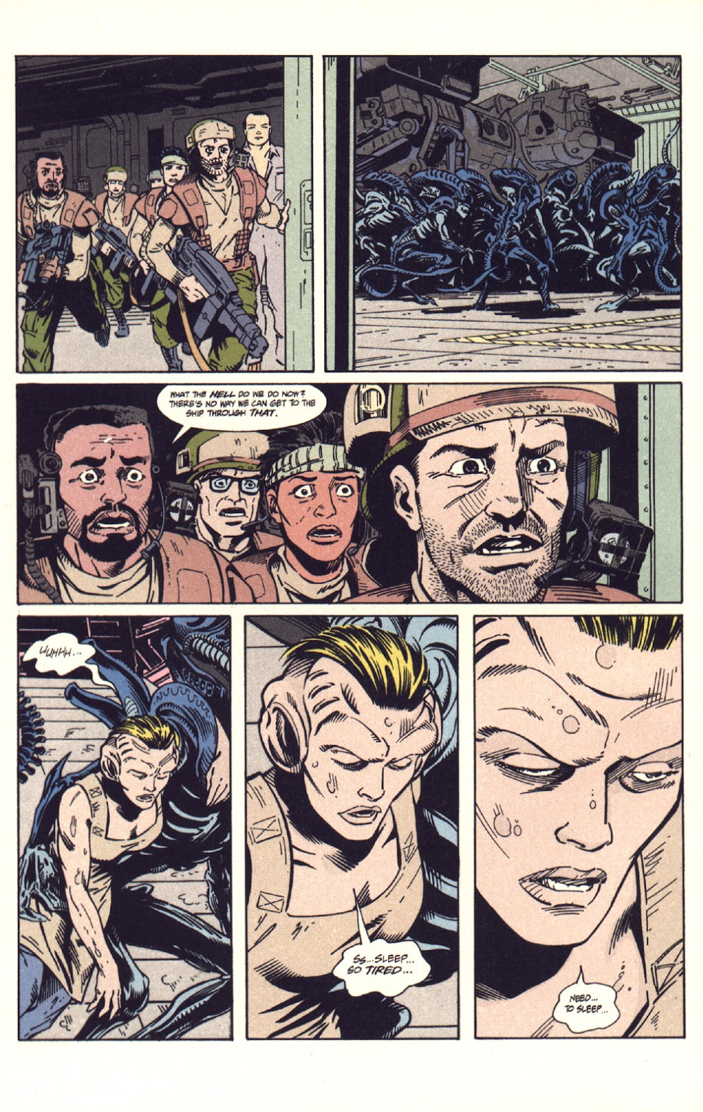 Read online Aliens: Colonial Marines comic -  Issue #9 - 21
