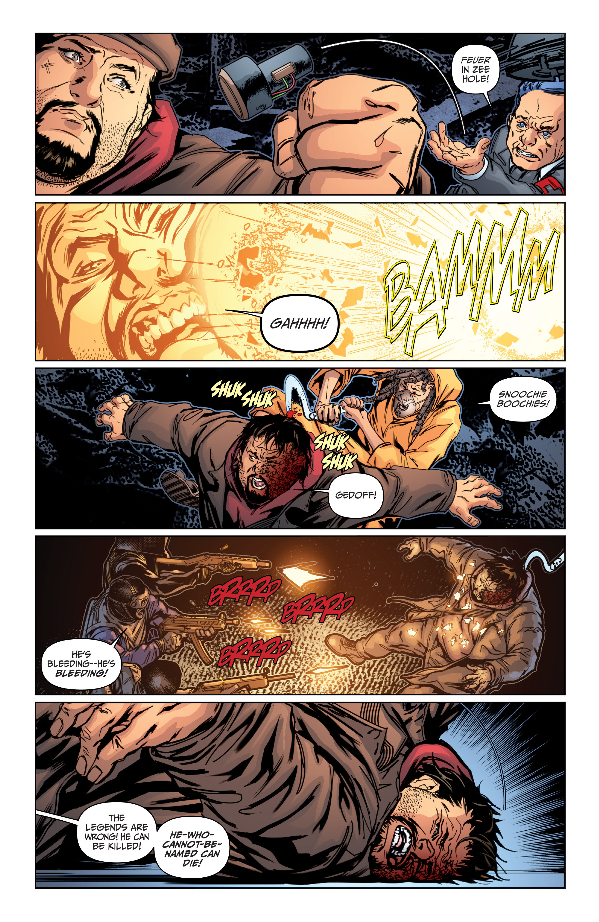 Read online Archer and Armstrong comic -  Issue #Archer and Armstrong _TPB 4 - 85