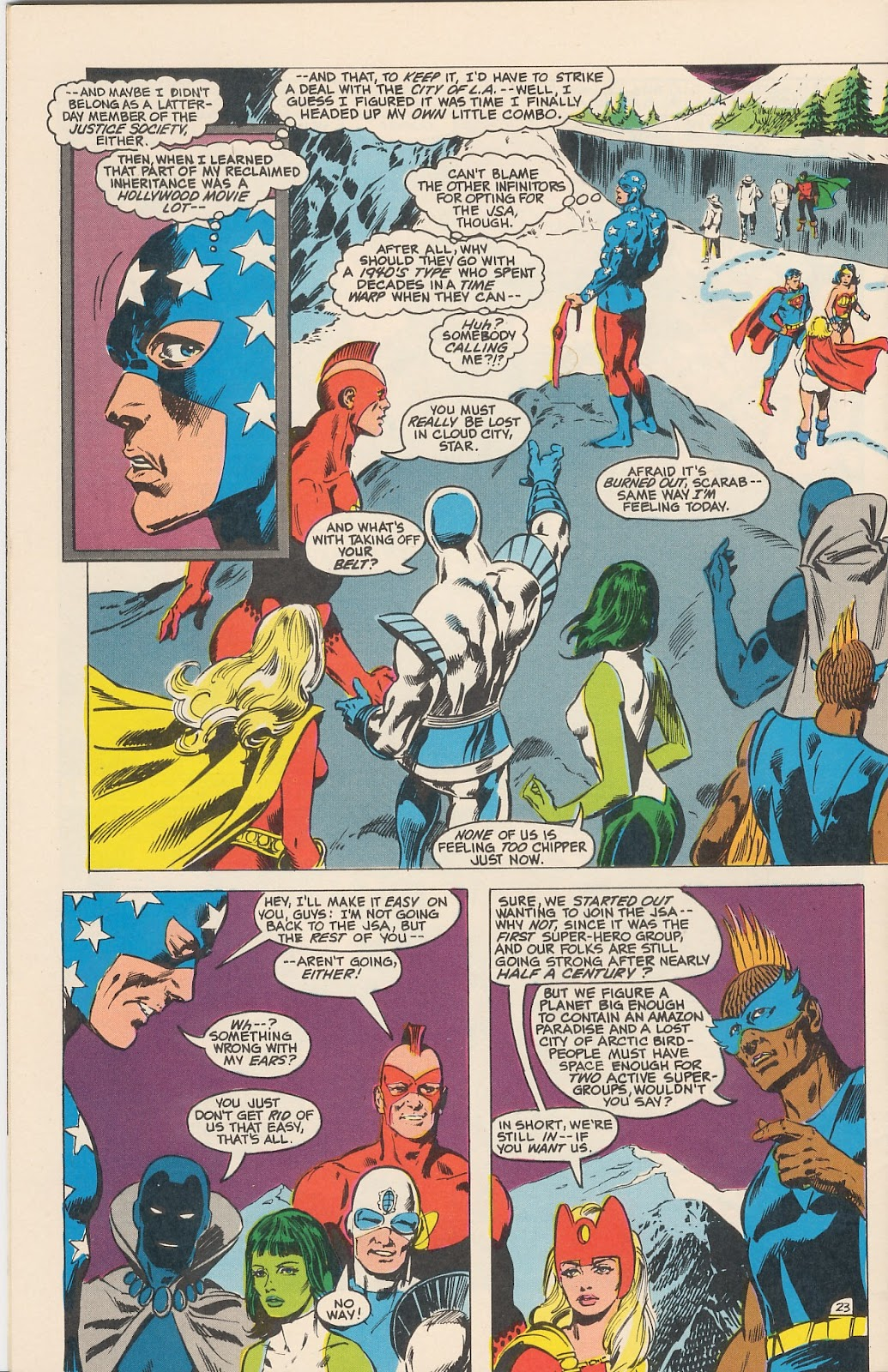 Infinity Inc. (1984) issue 11 - Page 32