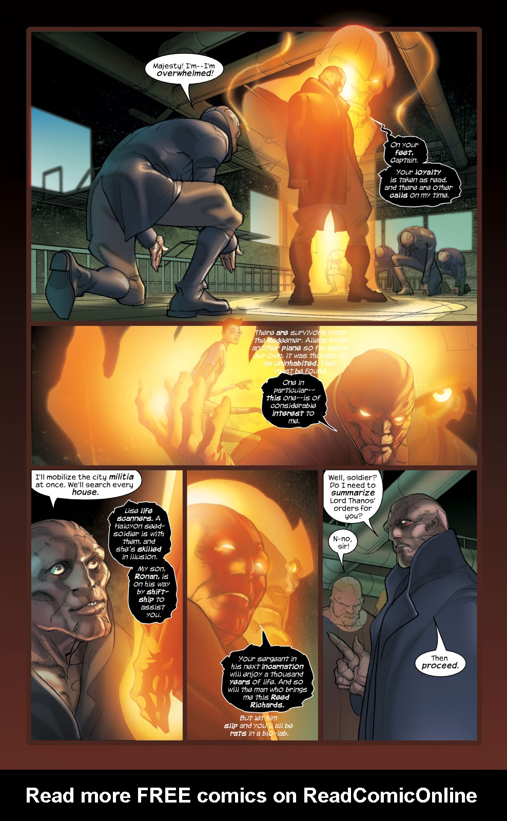 Read online Ultimate Fantastic Four (2004) comic -  Issue #36 - 9