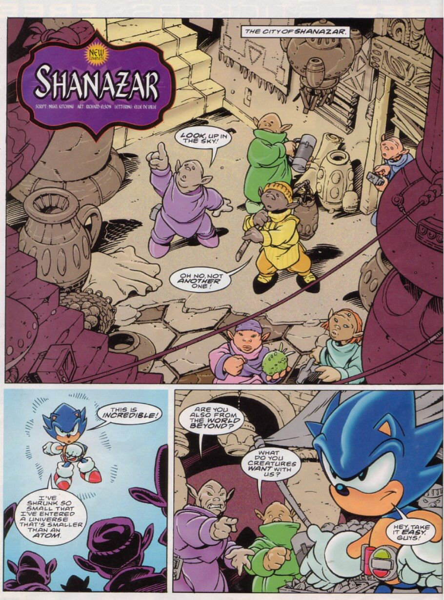 Read online Sonic the Comic comic -  Issue #149 - 2