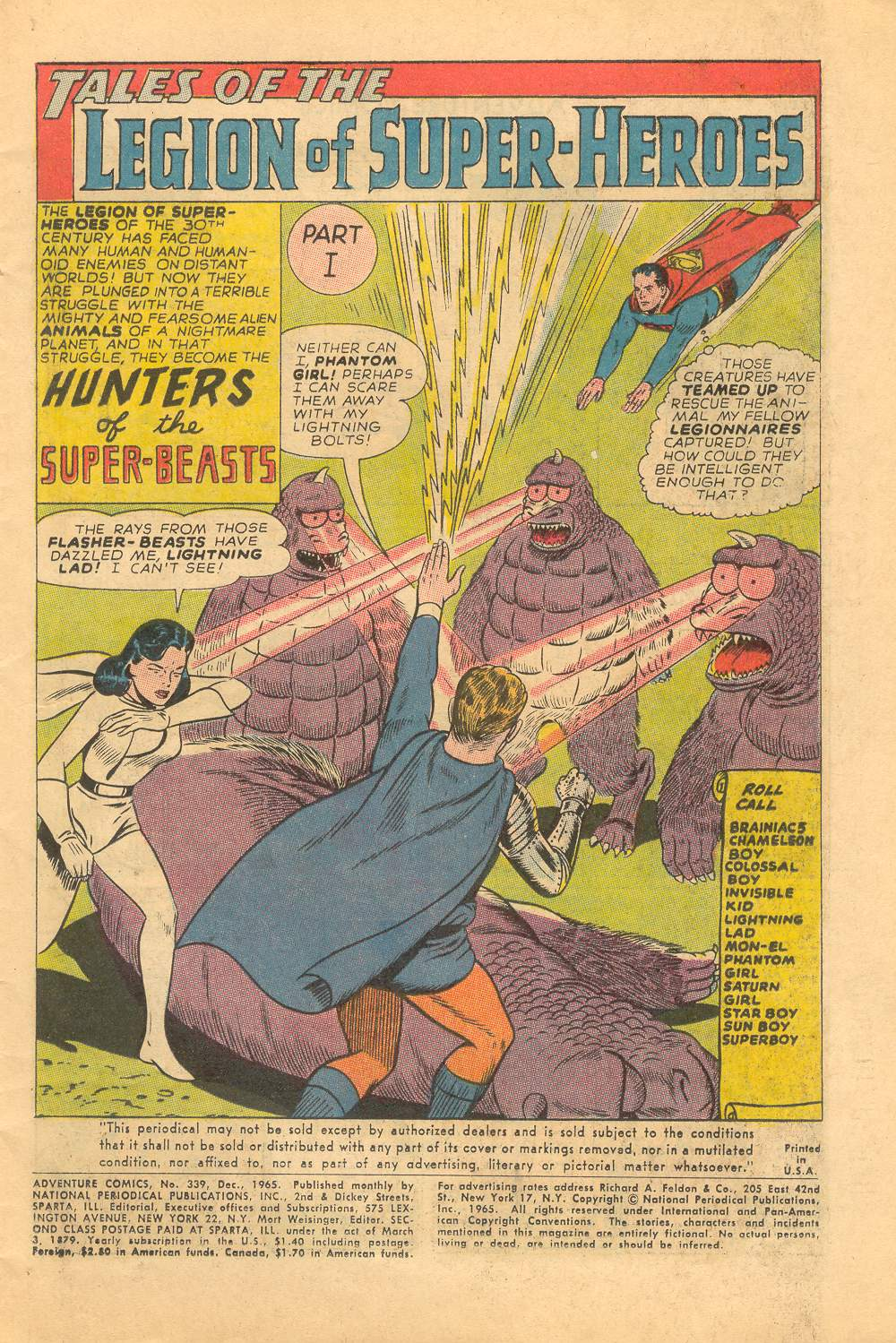 Read online Adventure Comics (1938) comic -  Issue #339 - 3