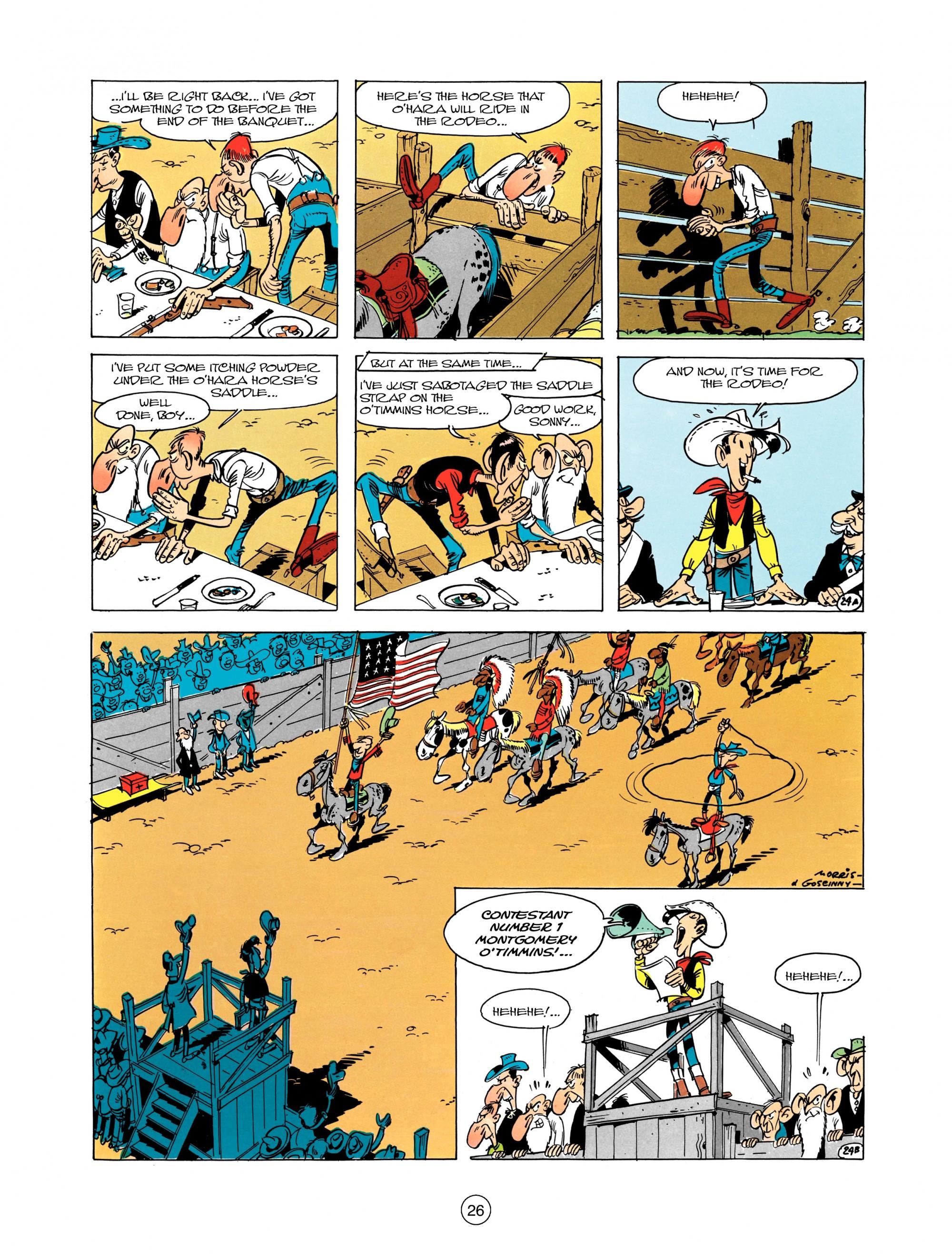 Read online A Lucky Luke Adventure comic -  Issue #12 - 26