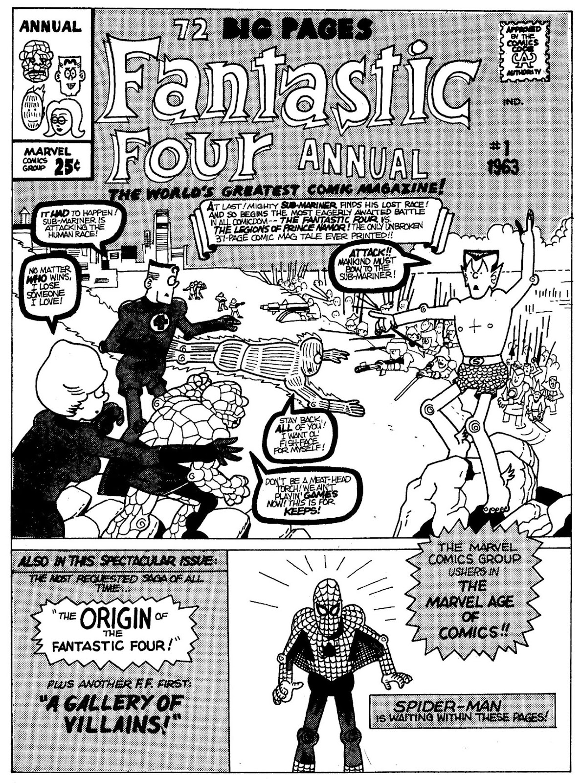 Read online The Nearly Complete Essential Hembeck Archives Omnibus comic -  Issue # TPB (Part 4) - 90