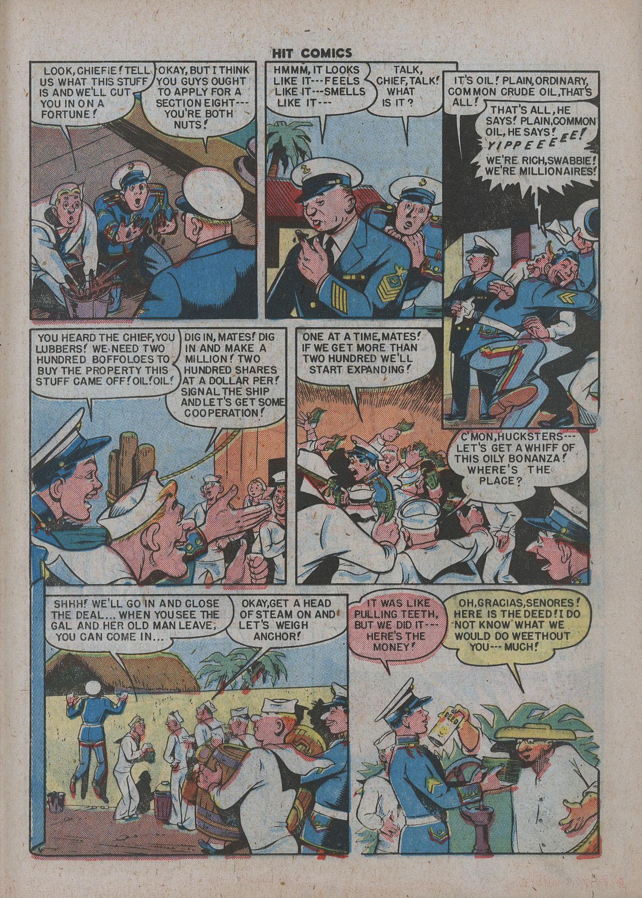 Read online Hit Comics comic -  Issue #63 - 25