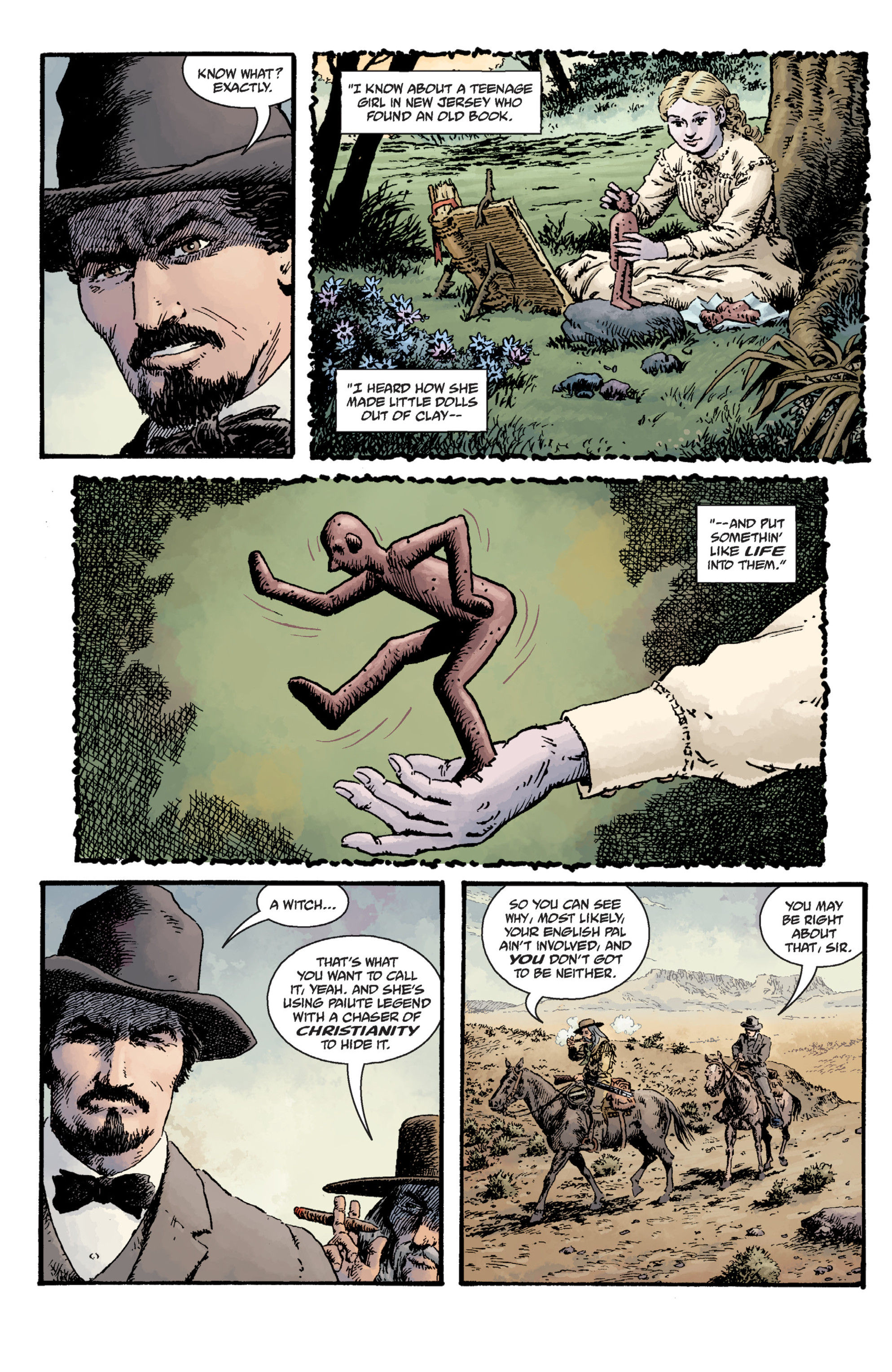 Read online Sir Edward Grey, Witchfinder: Lost and Gone Forever comic -  Issue # TPB - 39