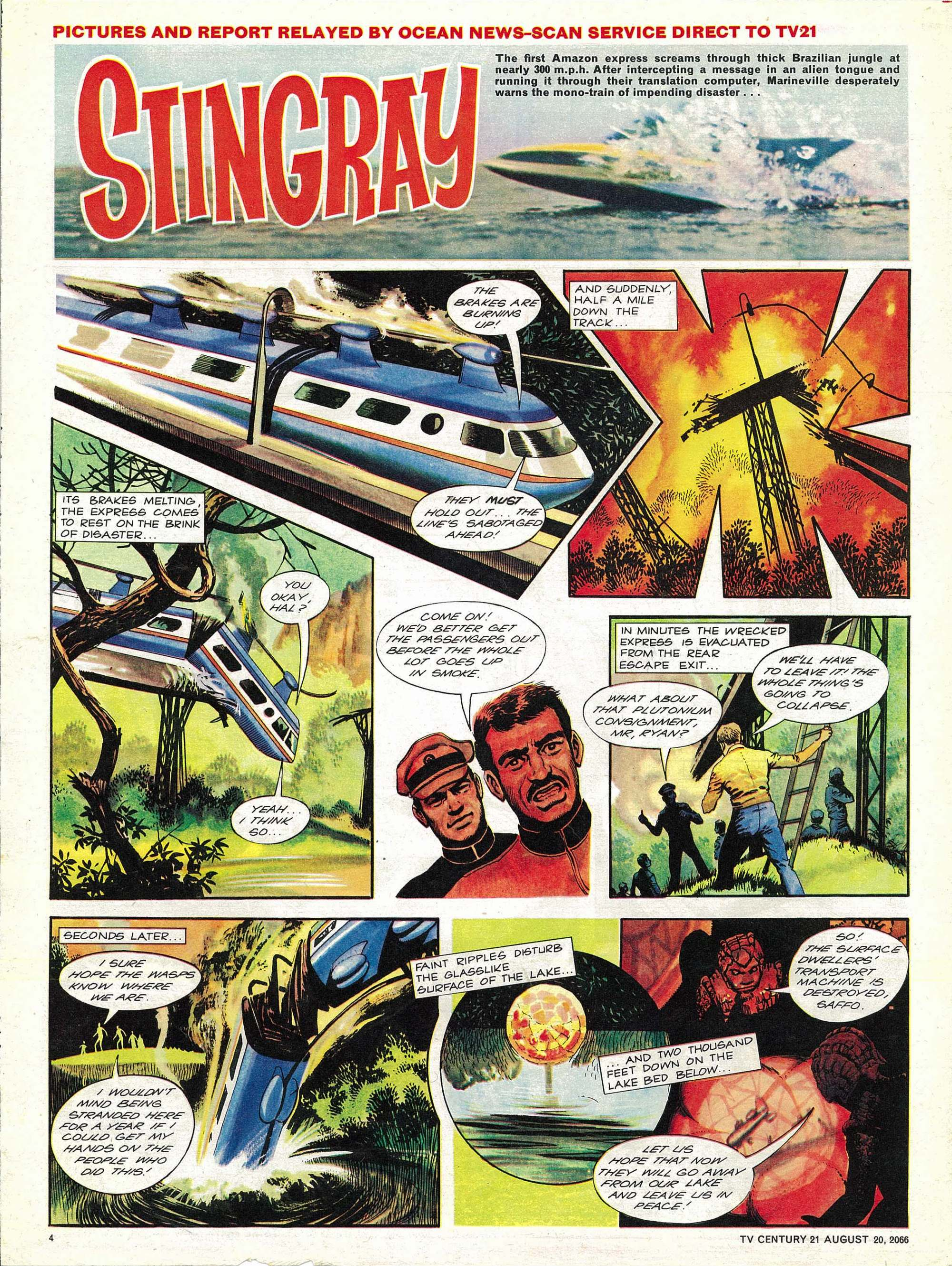 Read online TV Century 21 (TV 21) comic -  Issue #83 - 4