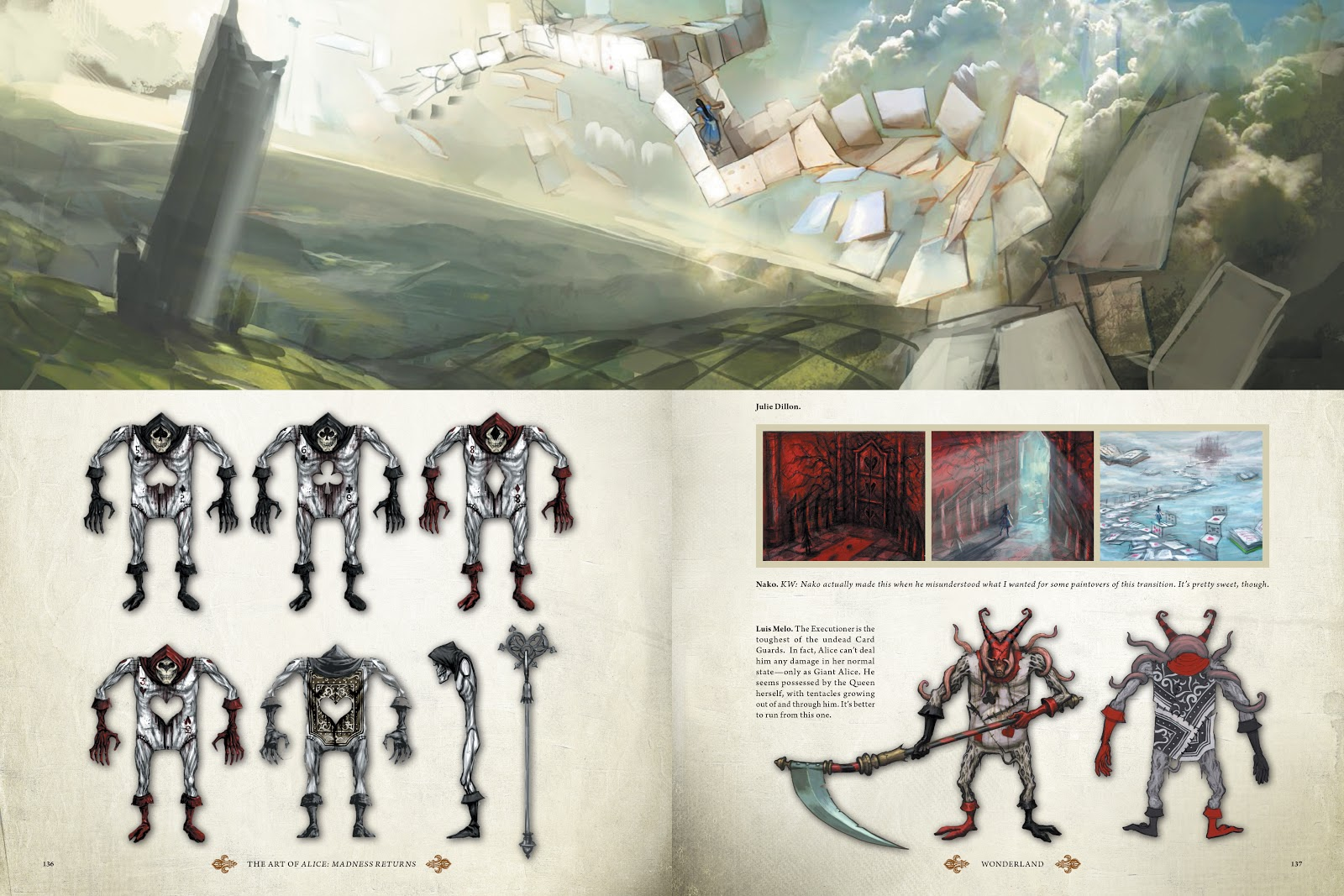 Read online The Art of Alice: Madness Returns comic -  Issue # TPB (Part 2) - 32