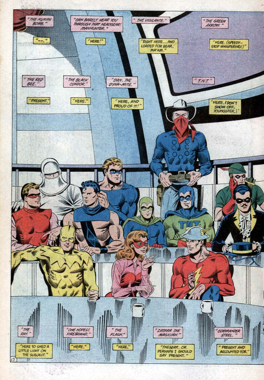 Read online All-Star Squadron comic -  Issue #31 - 18