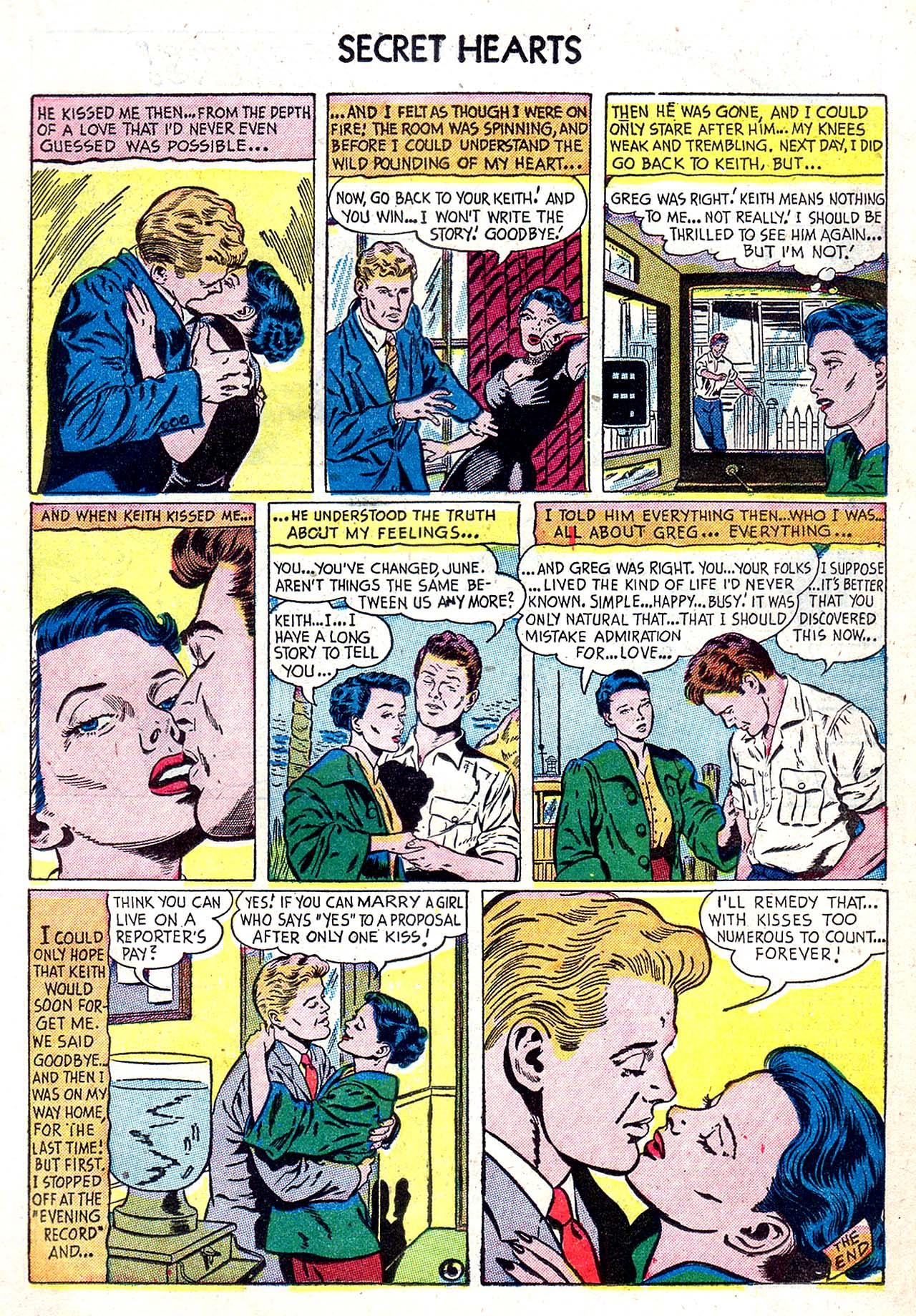 Read online Secret Hearts comic -  Issue #20 - 15