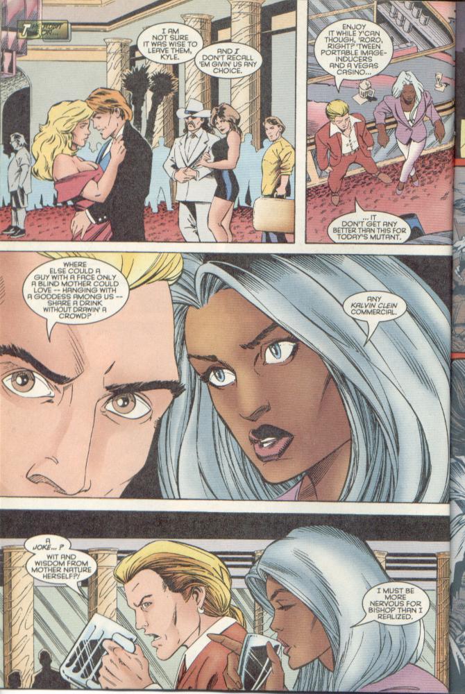 Read online Uncanny X-Men (1963) comic -  Issue # _Annual 1996 - 19