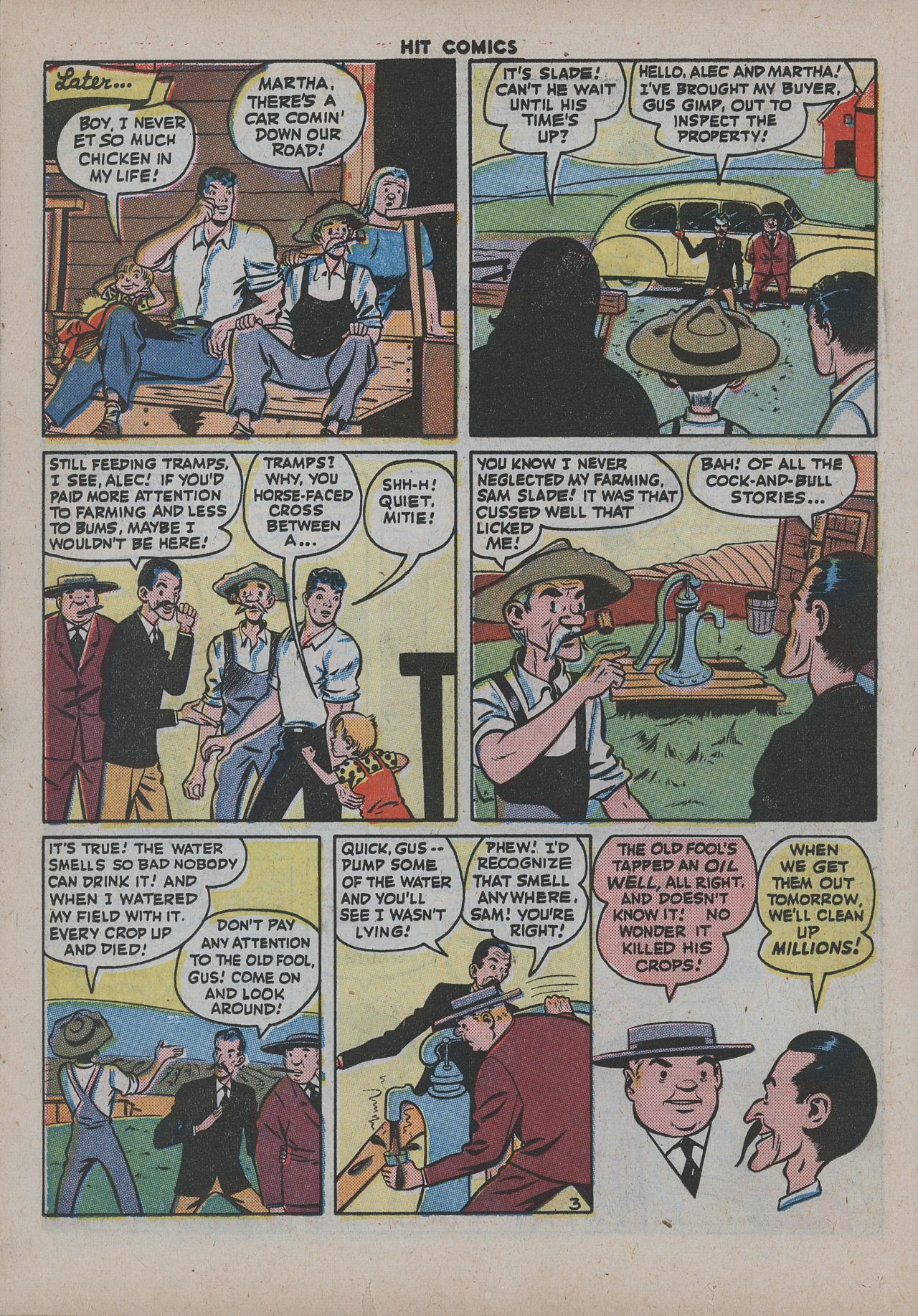 Read online Hit Comics comic -  Issue #38 - 35