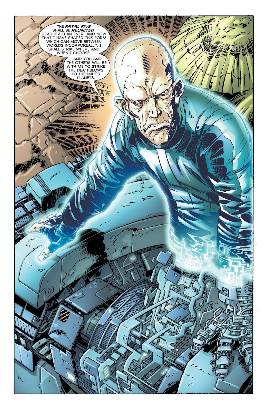 Legion of Super-Heroes (2011) Issue #17 #18 - English 19