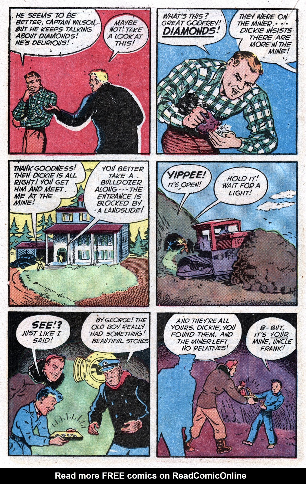 Read online Famous Funnies comic -  Issue #157 - 32