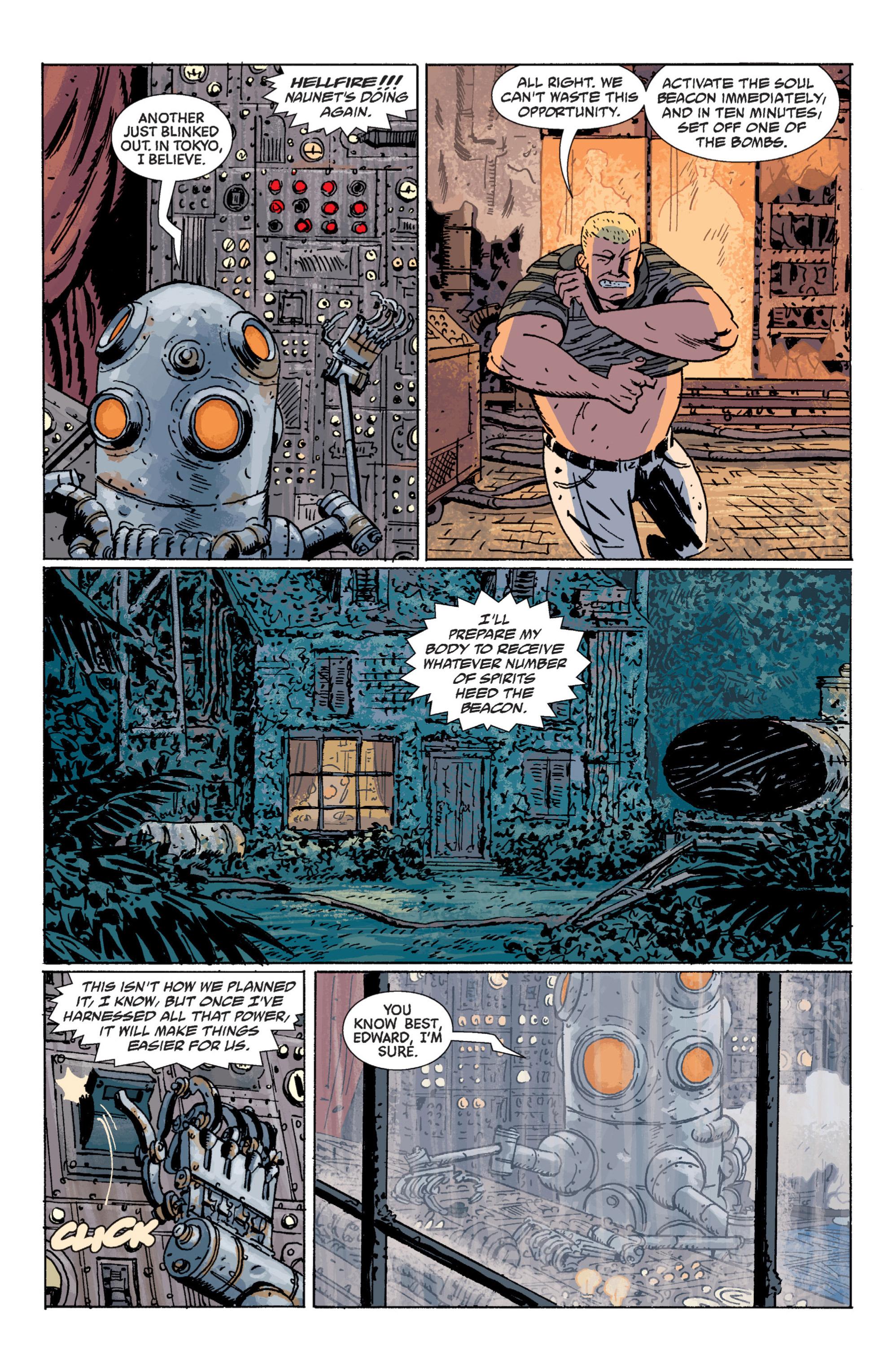 Read online B.P.R.D. (2003) comic -  Issue # TPB 7 - 118
