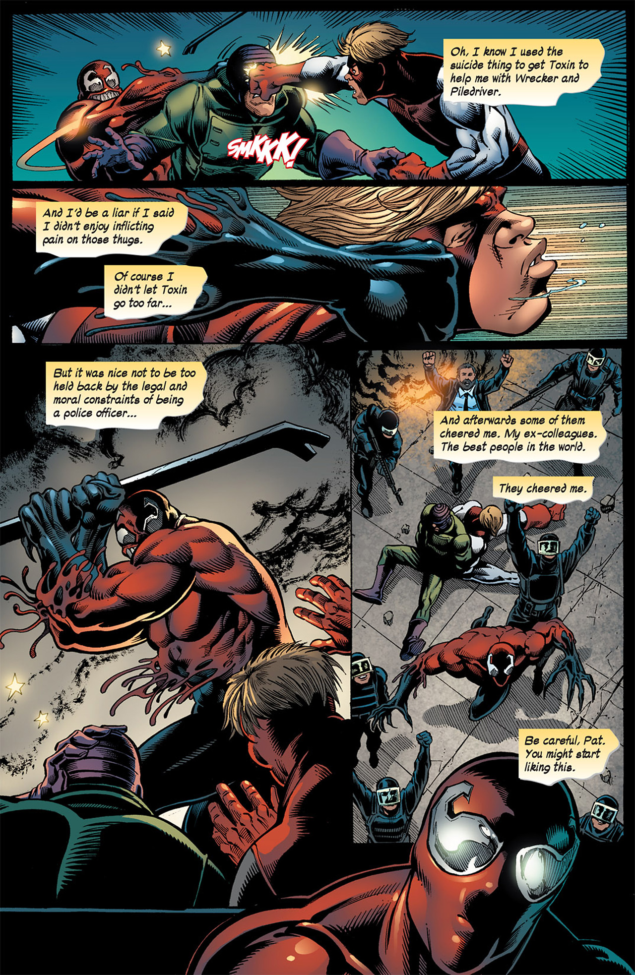 Read online Toxin comic -  Issue #4 - 21