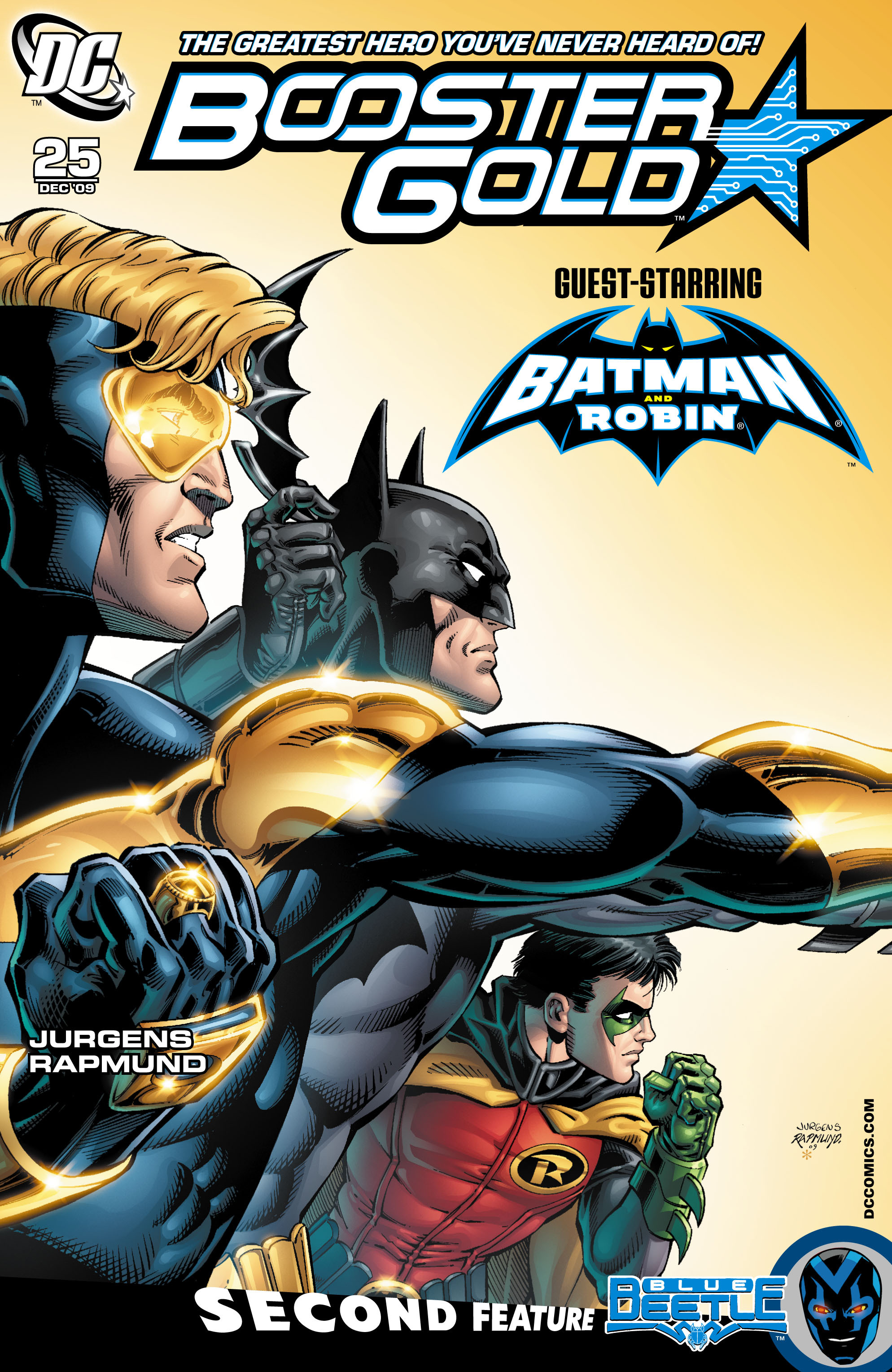 Booster Gold 2007 Issue 25