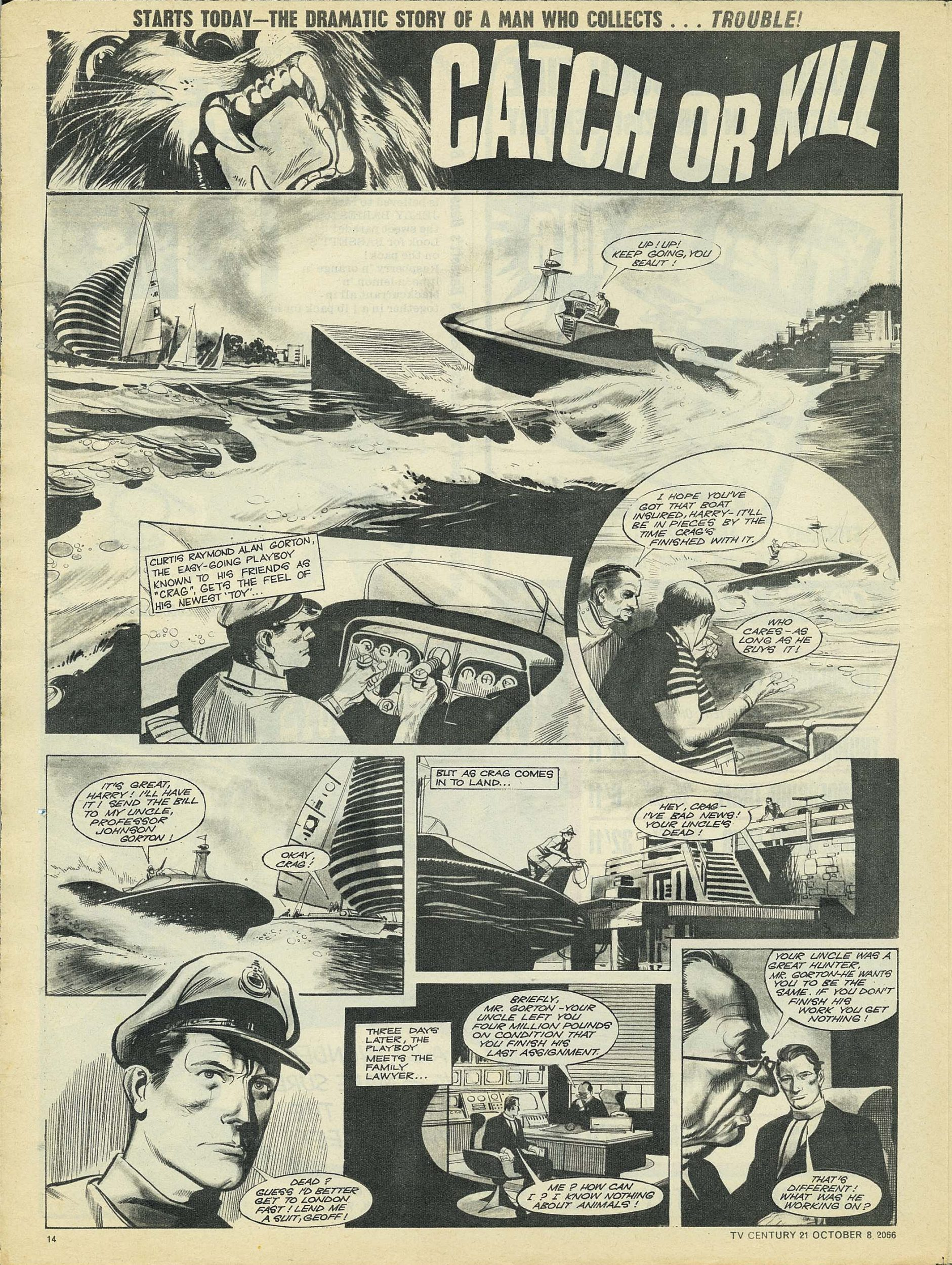 Read online TV Century 21 (TV 21) comic -  Issue #90 - 13