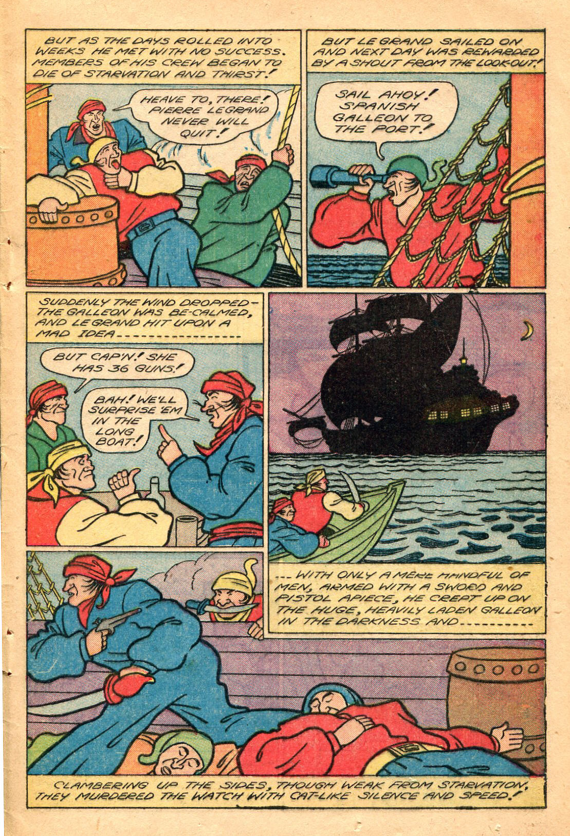Read online Shadow Comics comic -  Issue #60 - 45