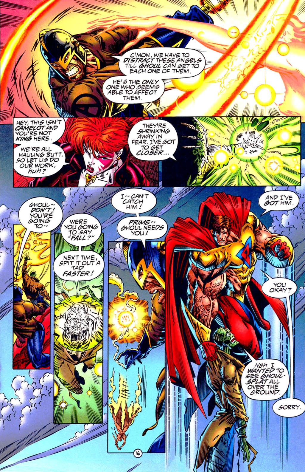 Read online UltraForce (1994) comic -  Issue #9 - 17