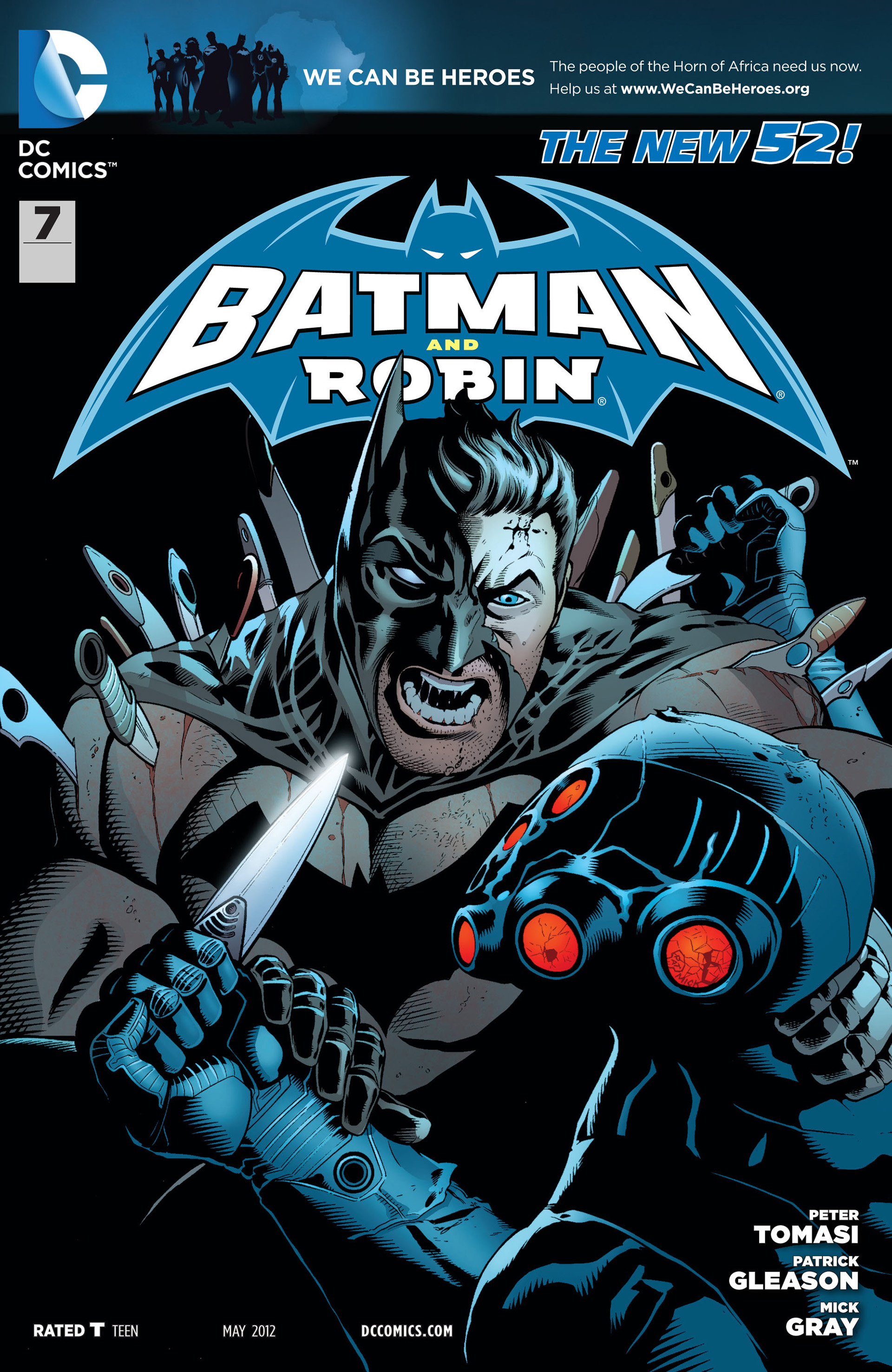Read online Batman and Robin (2011) comic -  Issue #7 - 1