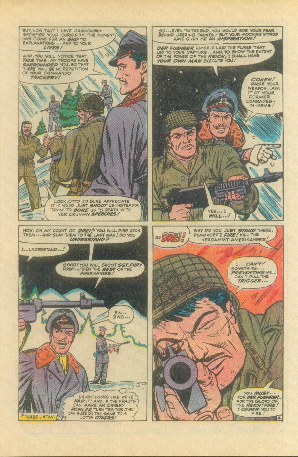 Read online Sgt. Fury comic -  Issue #93 - 25