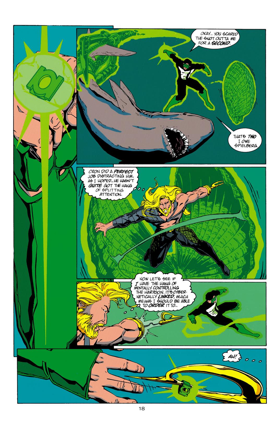 Read online Aquaman (1994) comic -  Issue #10 - 19