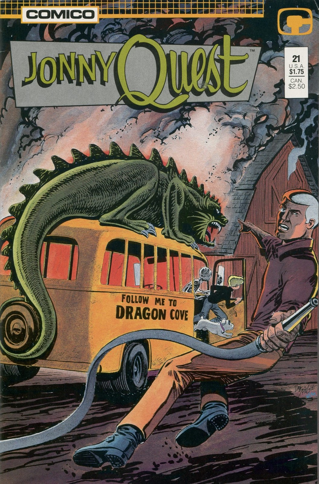 Jonny Quest (1986) issue 21 - Page 1