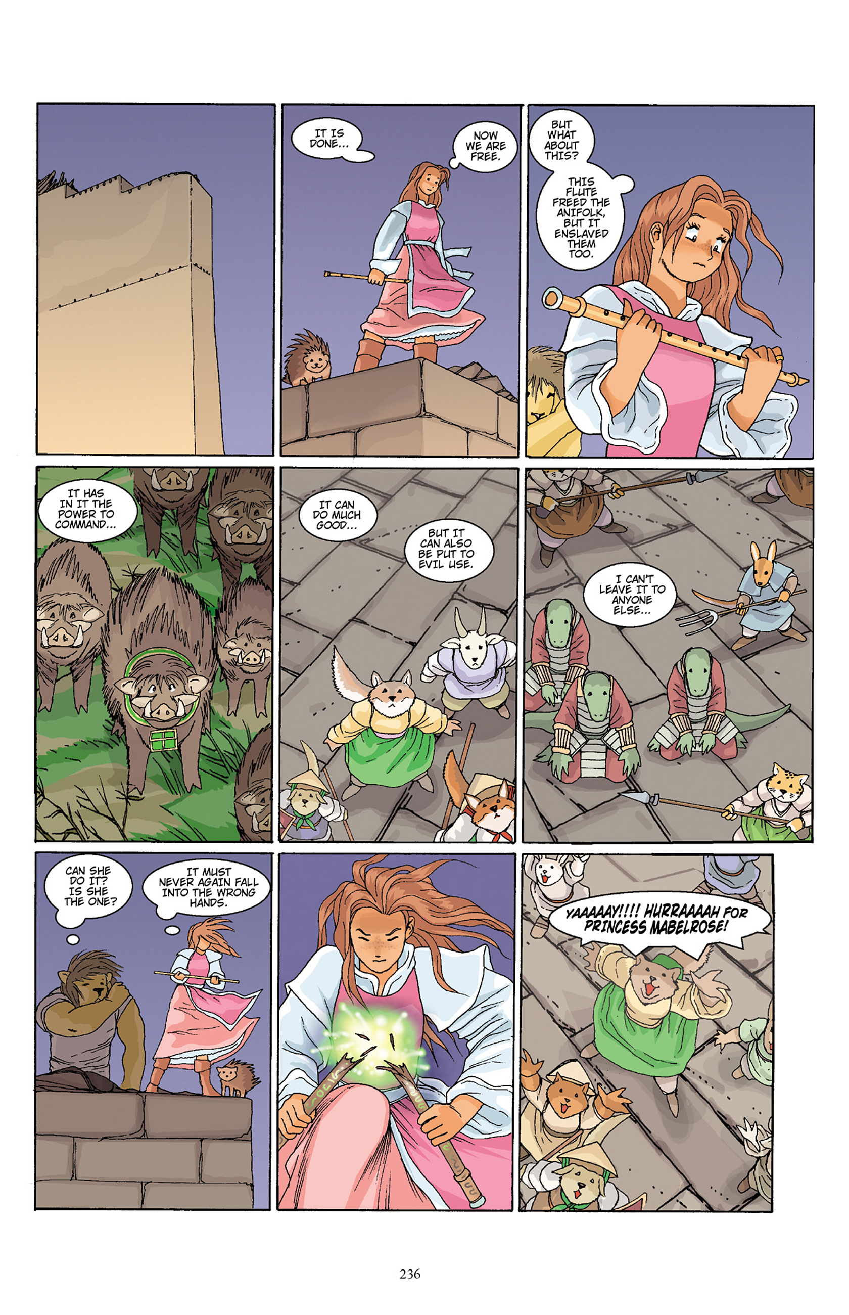 Read online Courageous Princess comic -  Issue # TPB 1 - 232