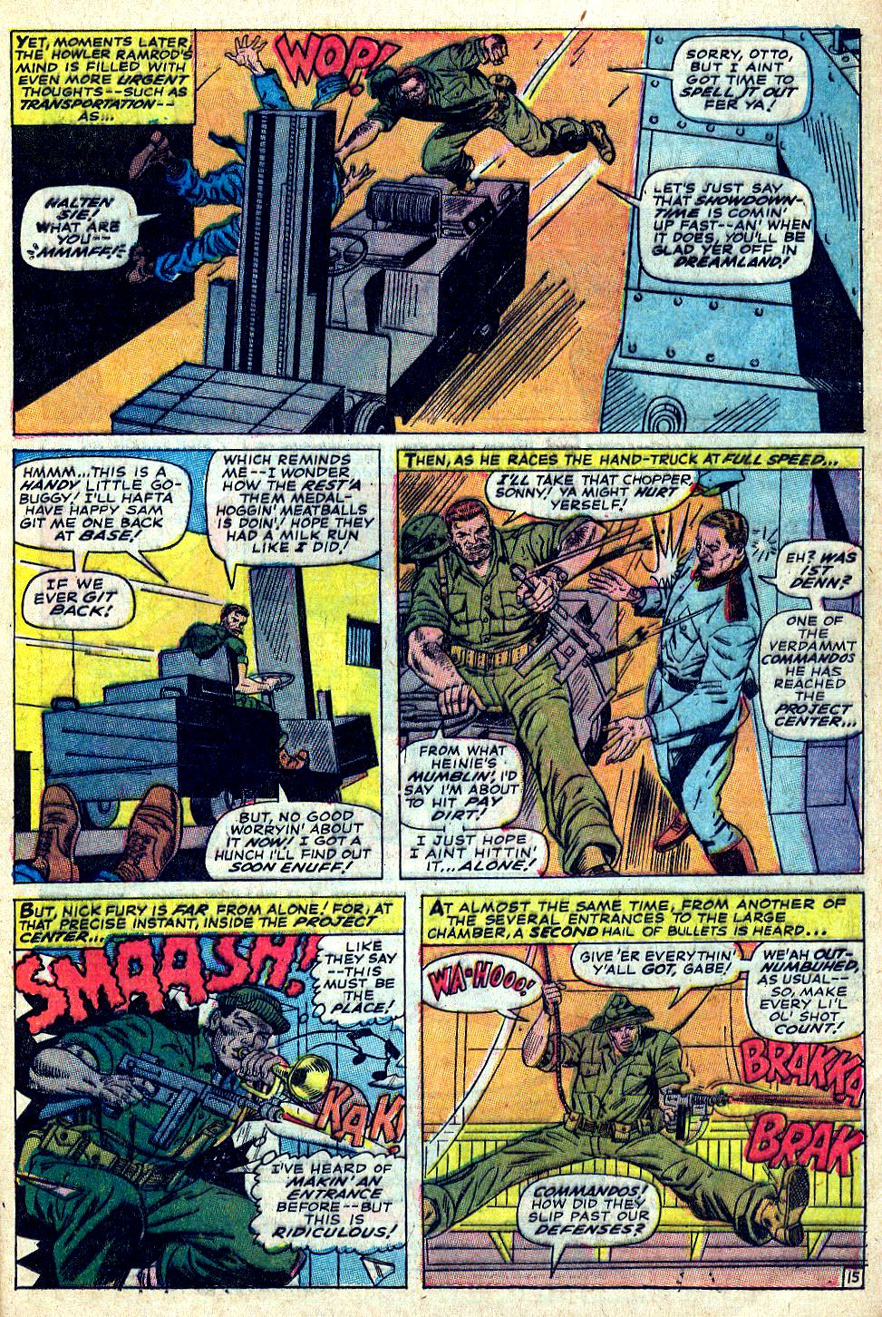 Read online Sgt. Fury comic -  Issue #39 - 21