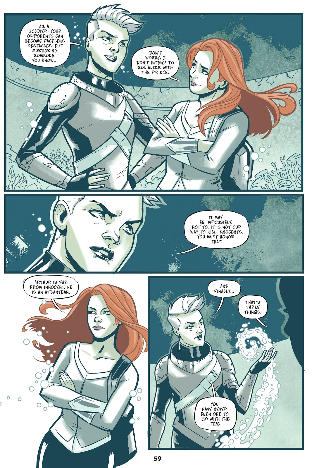 Read online Mera: Tidebreaker comic -  Issue # TPB (Part 1) - 59