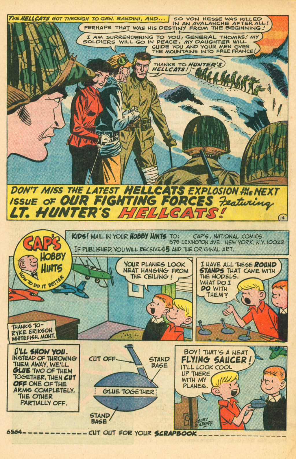 Our Fighting Forces (1954) issue 110 - Page 21
