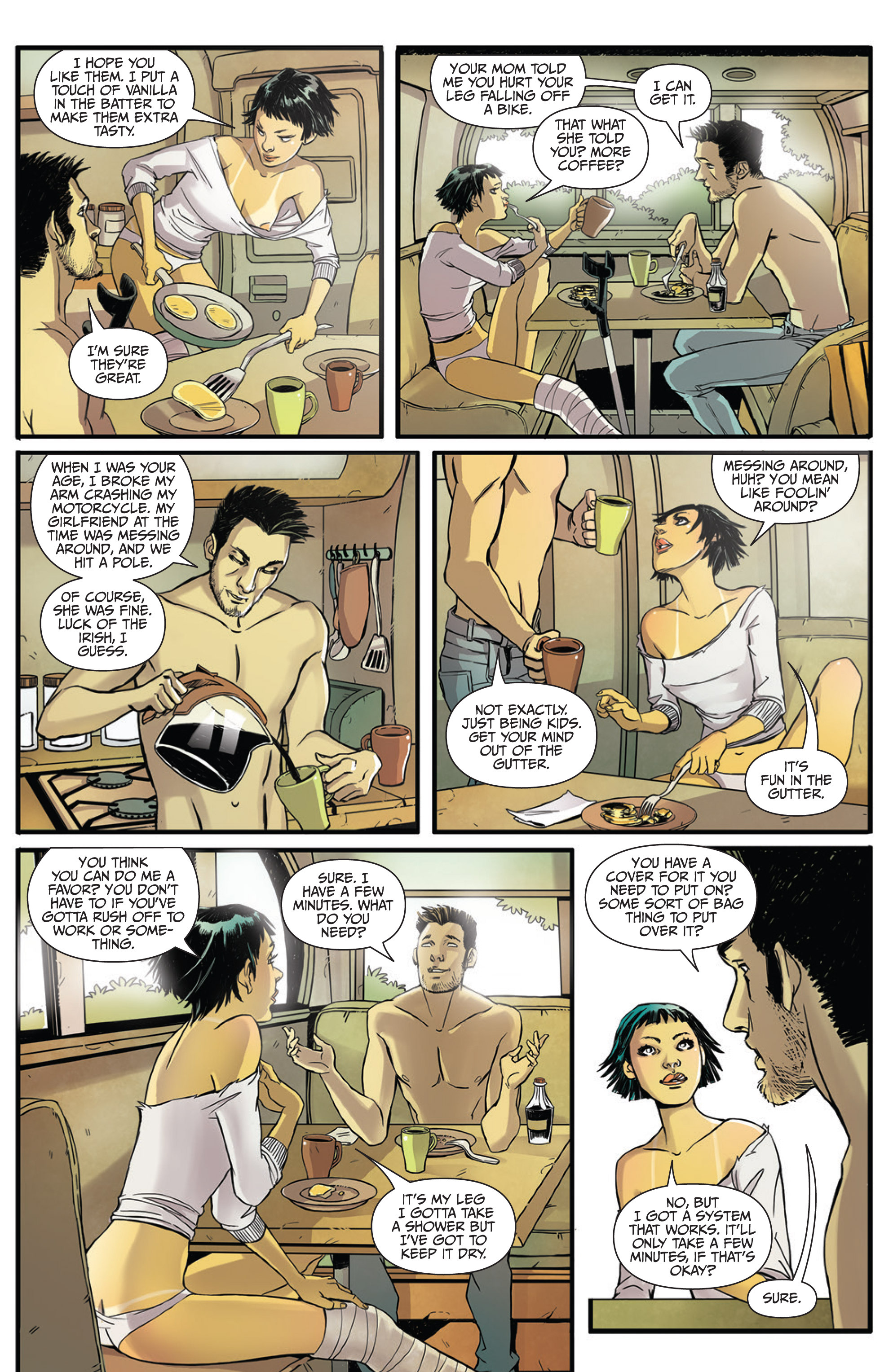 Read online Sex and Violence Vol. 2 comic -  Issue # Full - 7