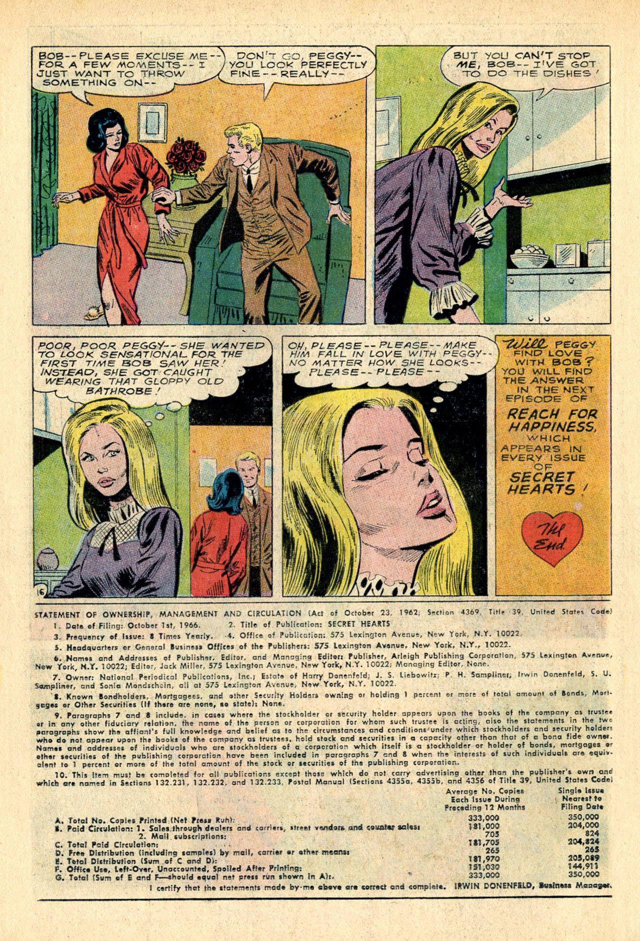 Read online Secret Hearts comic -  Issue #118 - 34