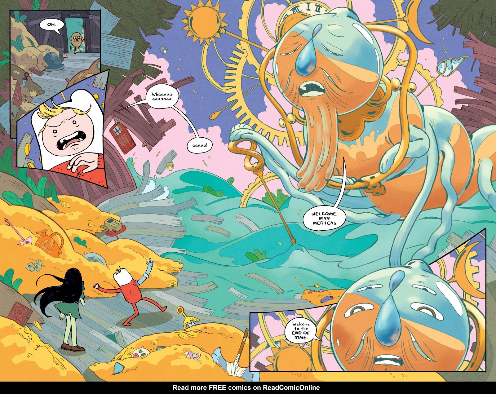 Read online Adventure Time: Beginning of the End comic -  Issue # _TPB - 13