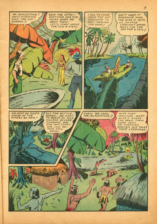 Read online Super-Magician Comics comic -  Issue #9 - 7