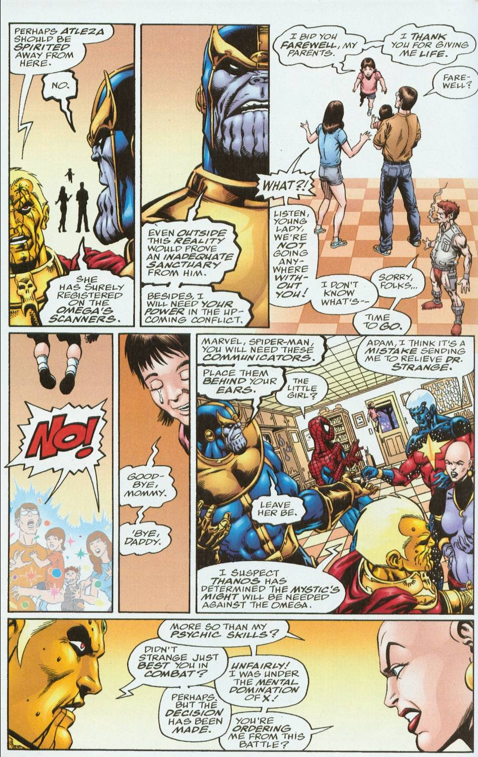 Read online Infinity Abyss comic -  Issue #6 - 15