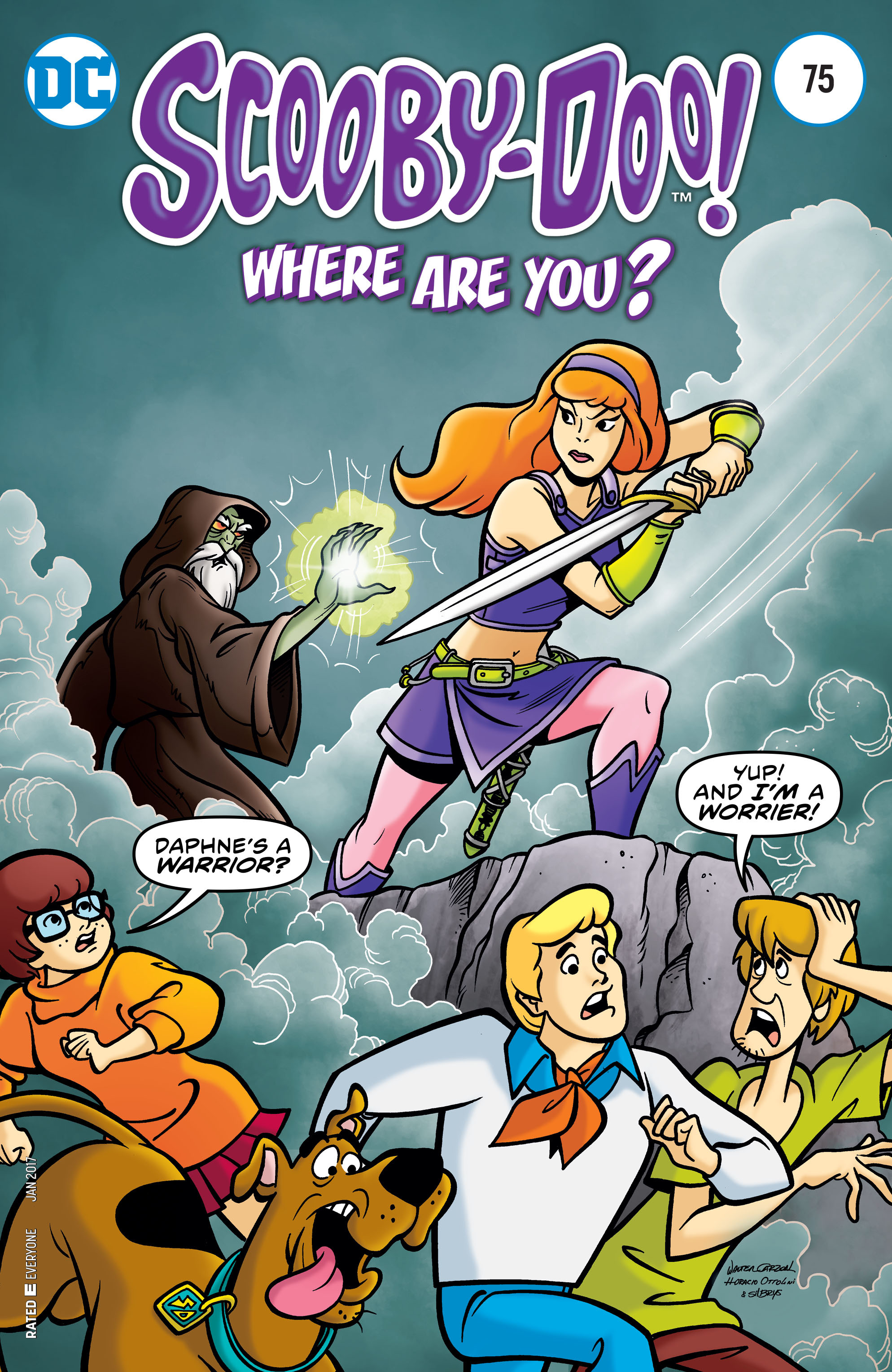 Read online Scooby-Doo: Where Are You? comic -  Issue #75 - 1