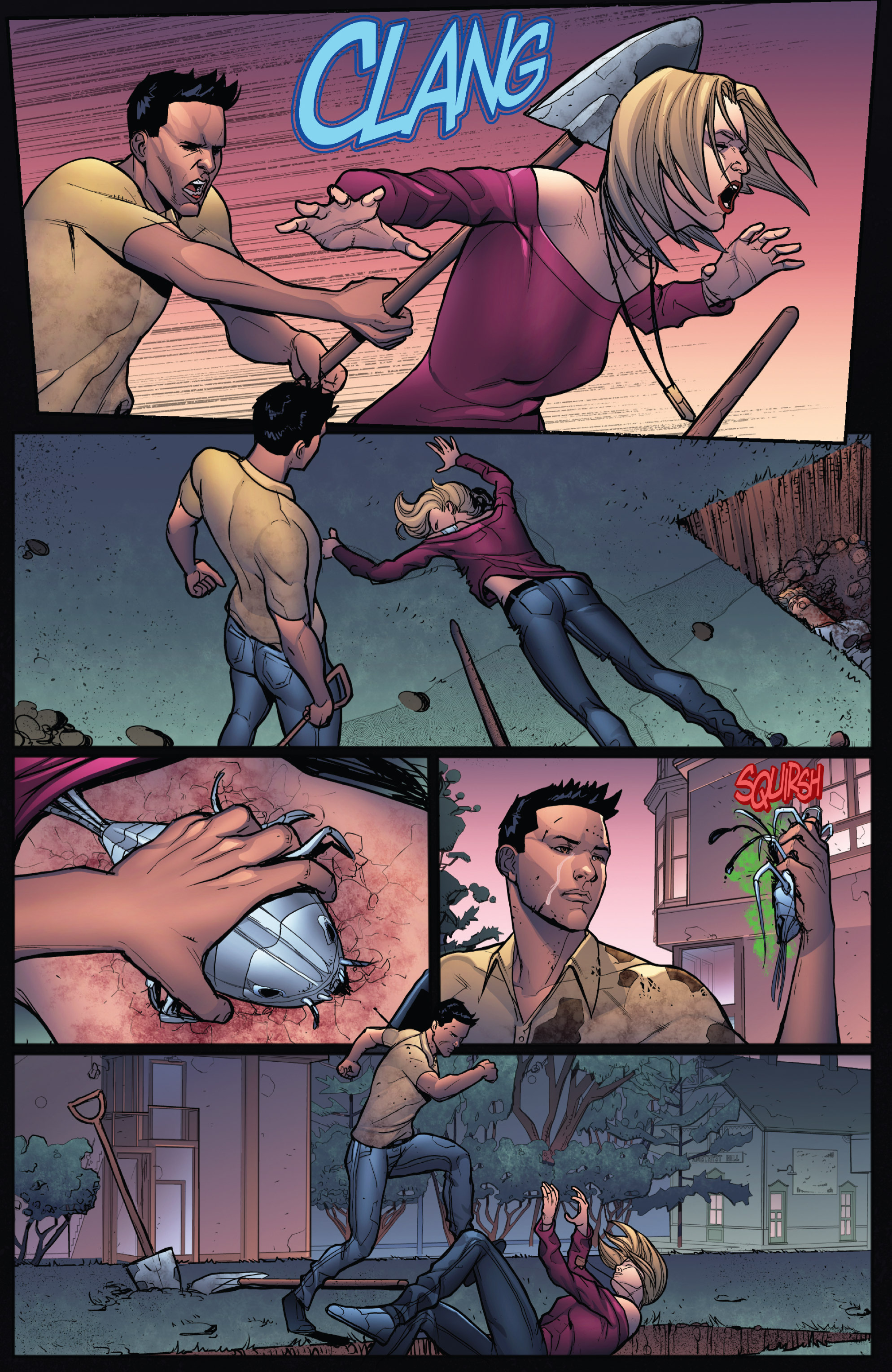 Read online Grimm Fairy Tales: Arcane Acre comic -  Issue # TPB 4 - 139