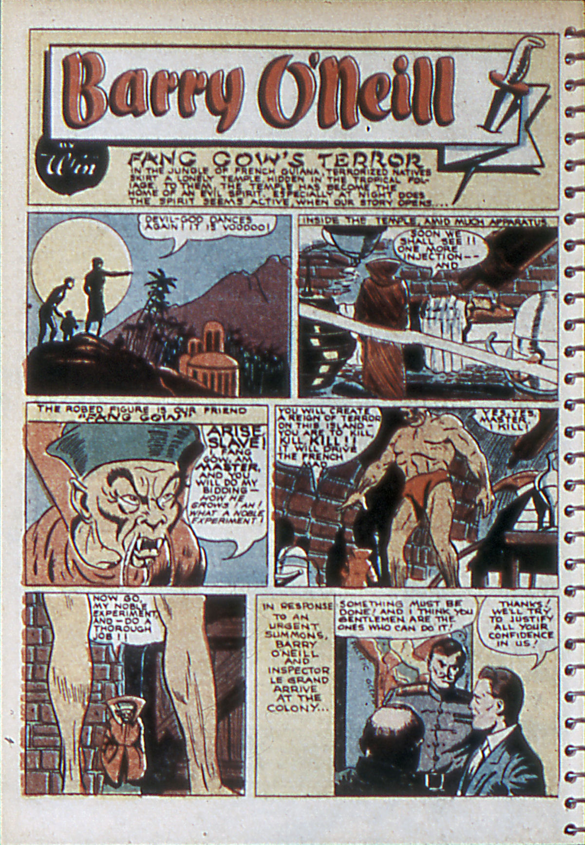 Read online Adventure Comics (1938) comic -  Issue #55 - 13