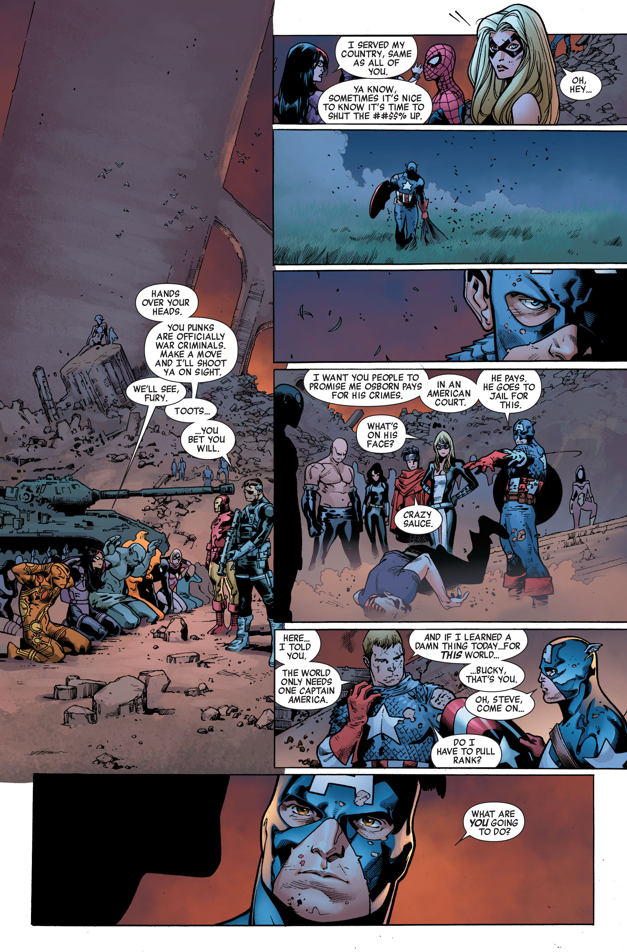 Read online Siege (2010) comic -  Issue #4 - 21