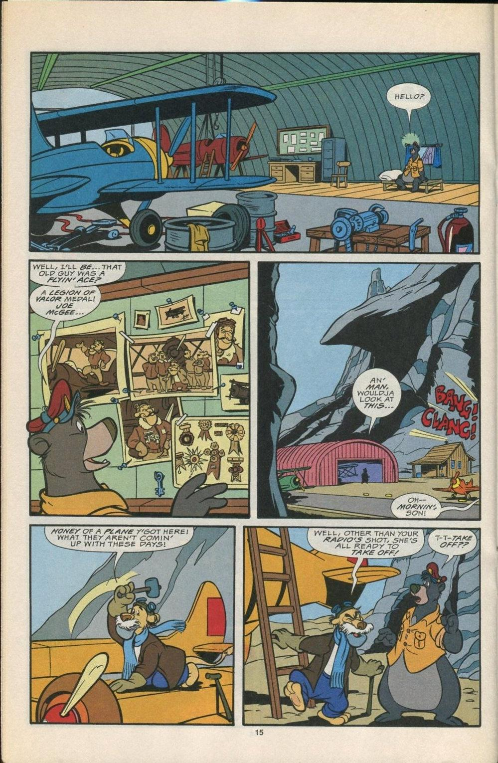 Read online Disney's Tale Spin comic -  Issue #5 - 16