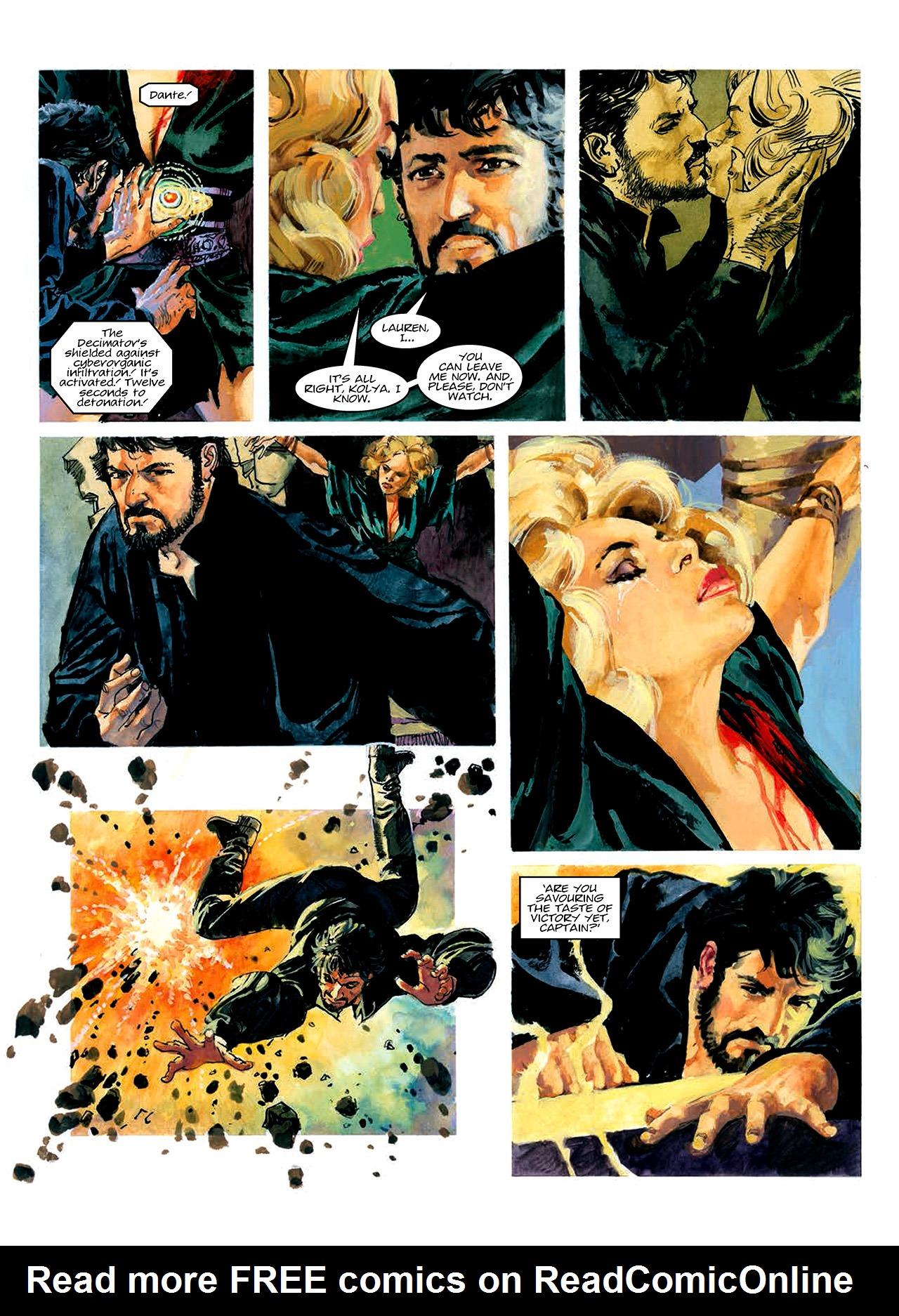 Read online Nikolai Dante comic -  Issue # TPB 10 - 45