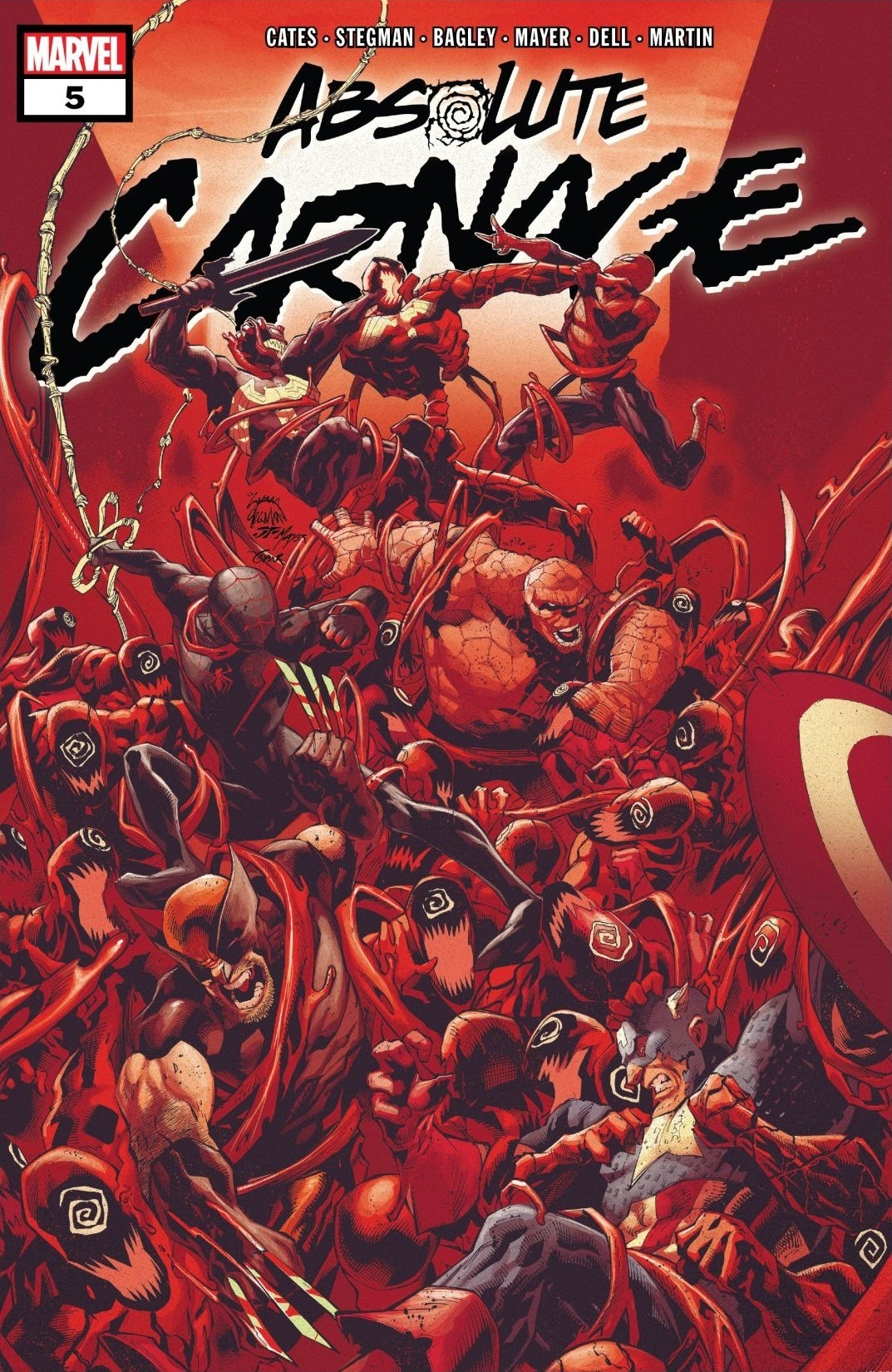 Absolute Carnage 5 Page 1